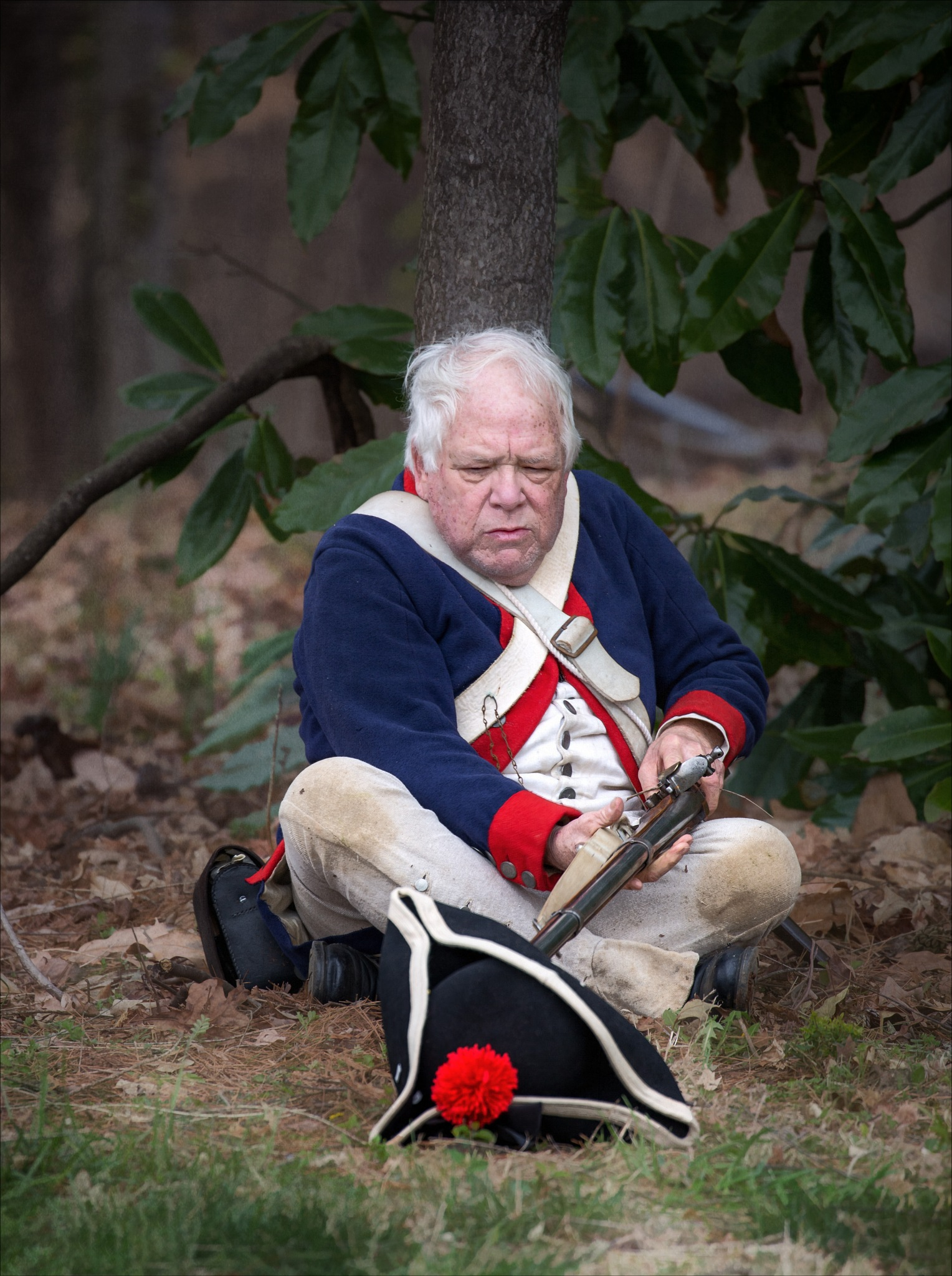 Continental Soldier - A Senior Moment by Bob Yankle