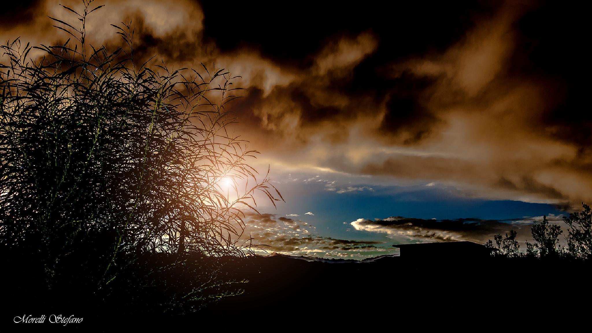 al tramontar del sole....... by Stefano