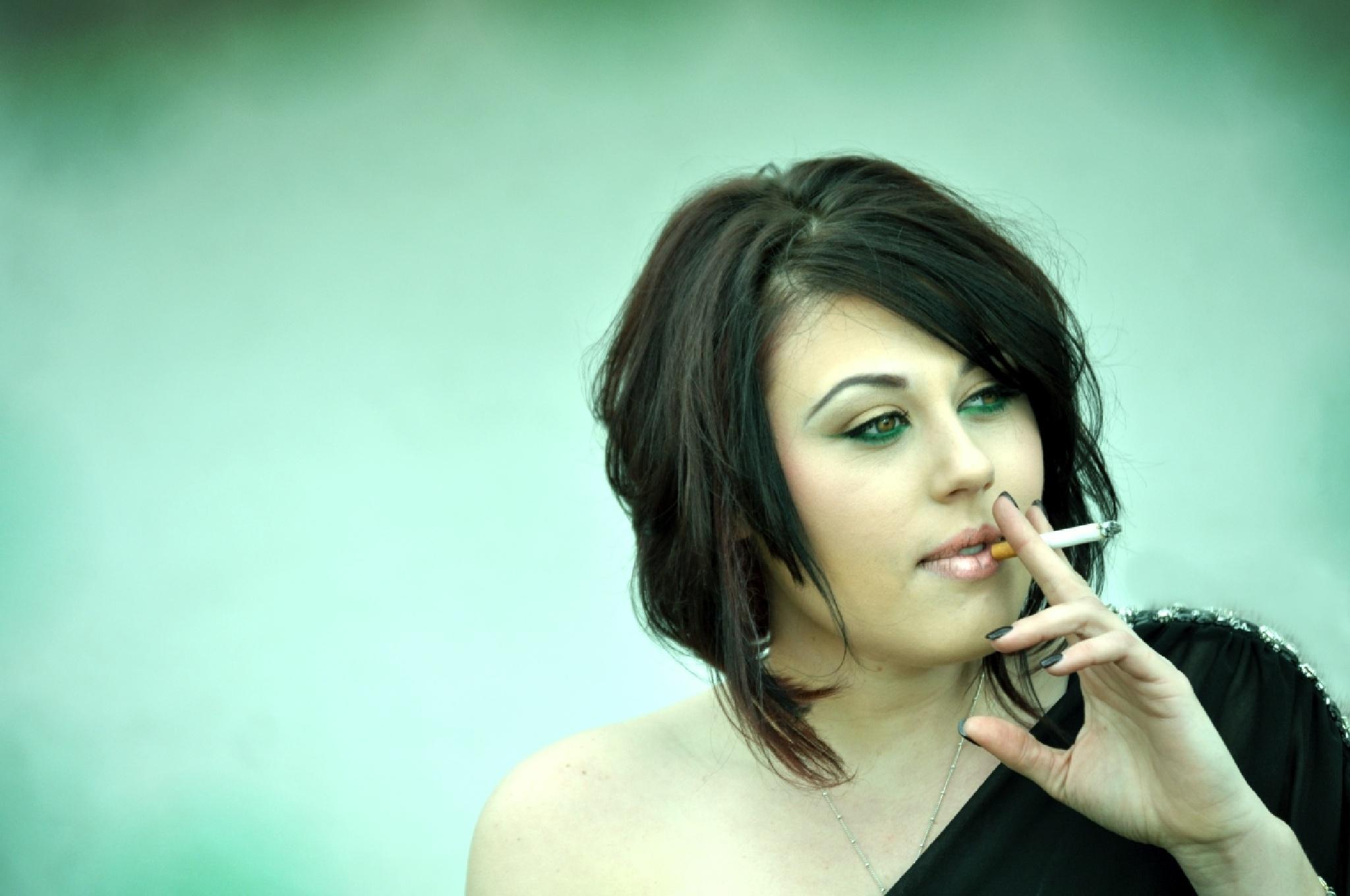 smoking by Carina McKee