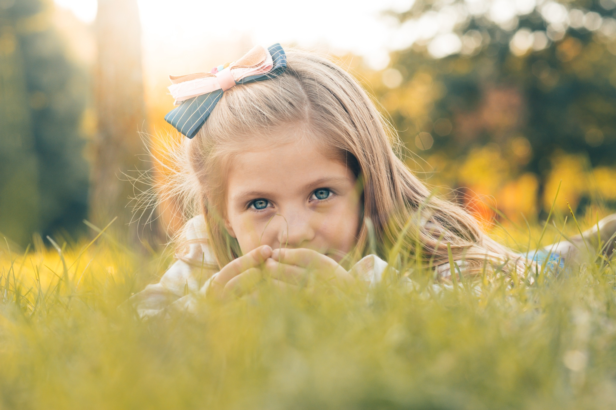 looking for four leaf clover by Carina McKee