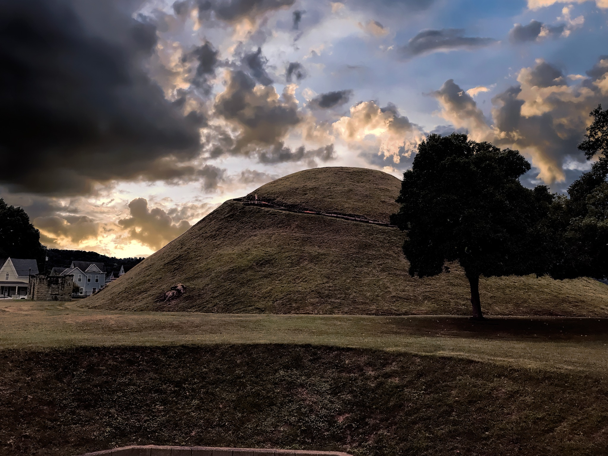 The Mound  by 68steelphotos