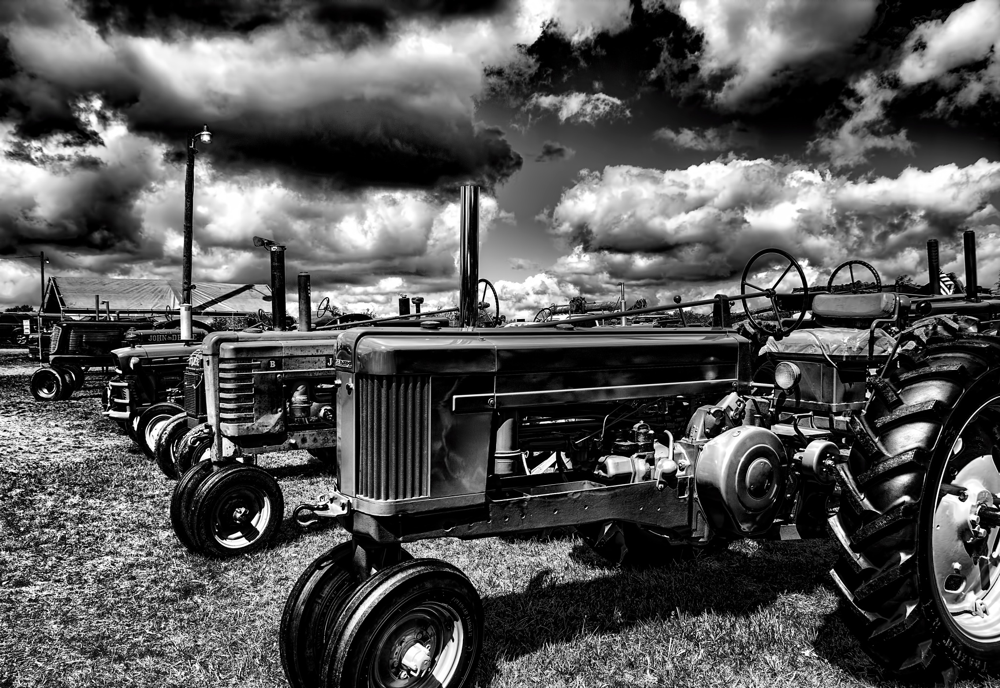 Tractor Heaven by 68steelphotos