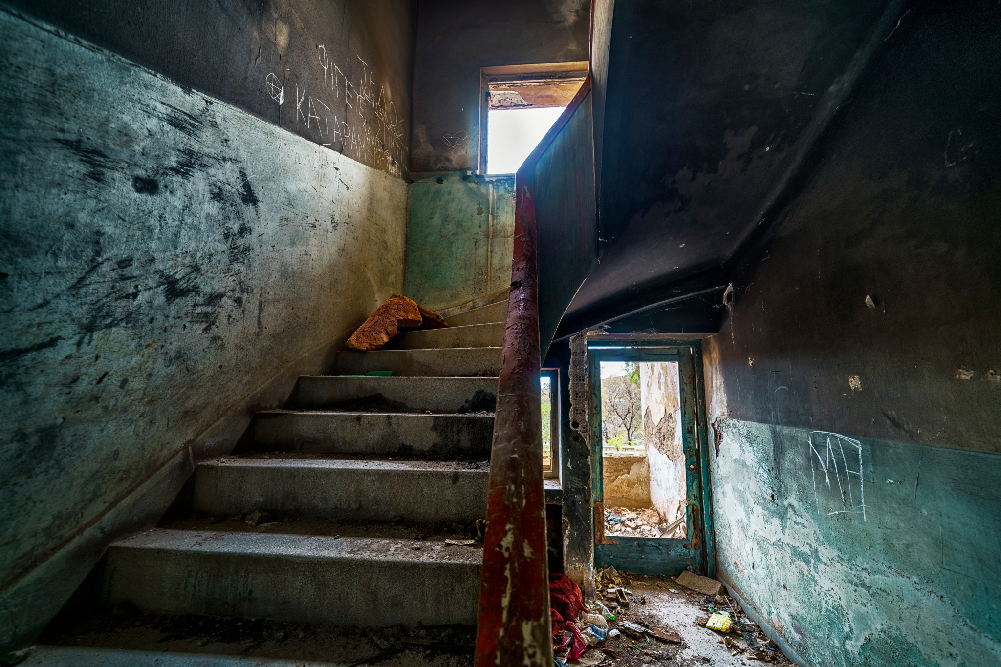 colorful decay by Stathis Floros