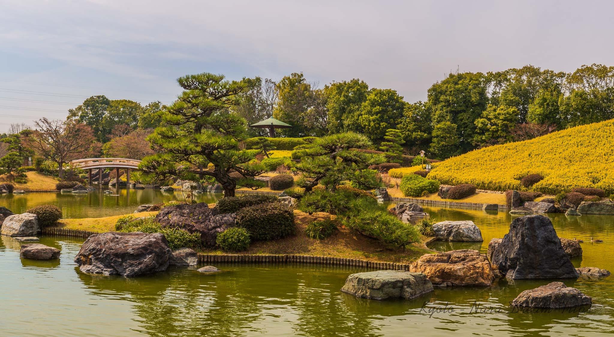 The Japanese Garden in Daisen Park, Sakai City - Ōsaka. by KyotoNaraDreamTrips