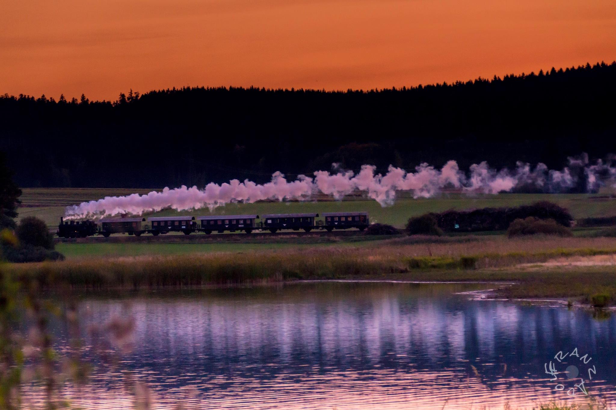 Steam Locomotive MLV Zwettl by Franzl