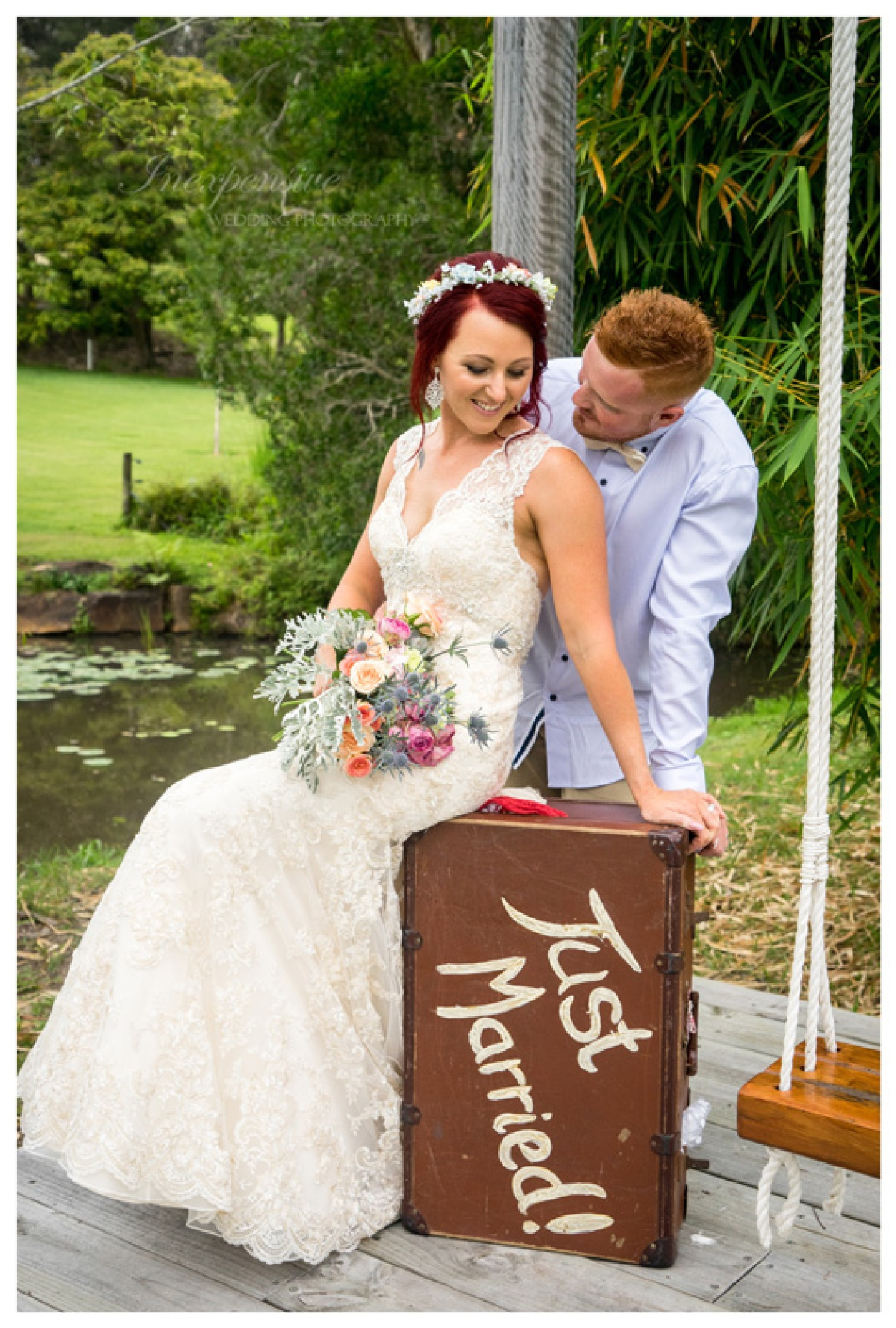 Just Married by Inexpensive Wedding Photography