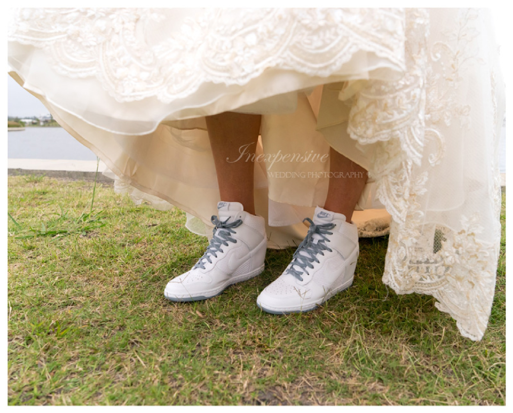 Nike Bride by Inexpensive Wedding Photography