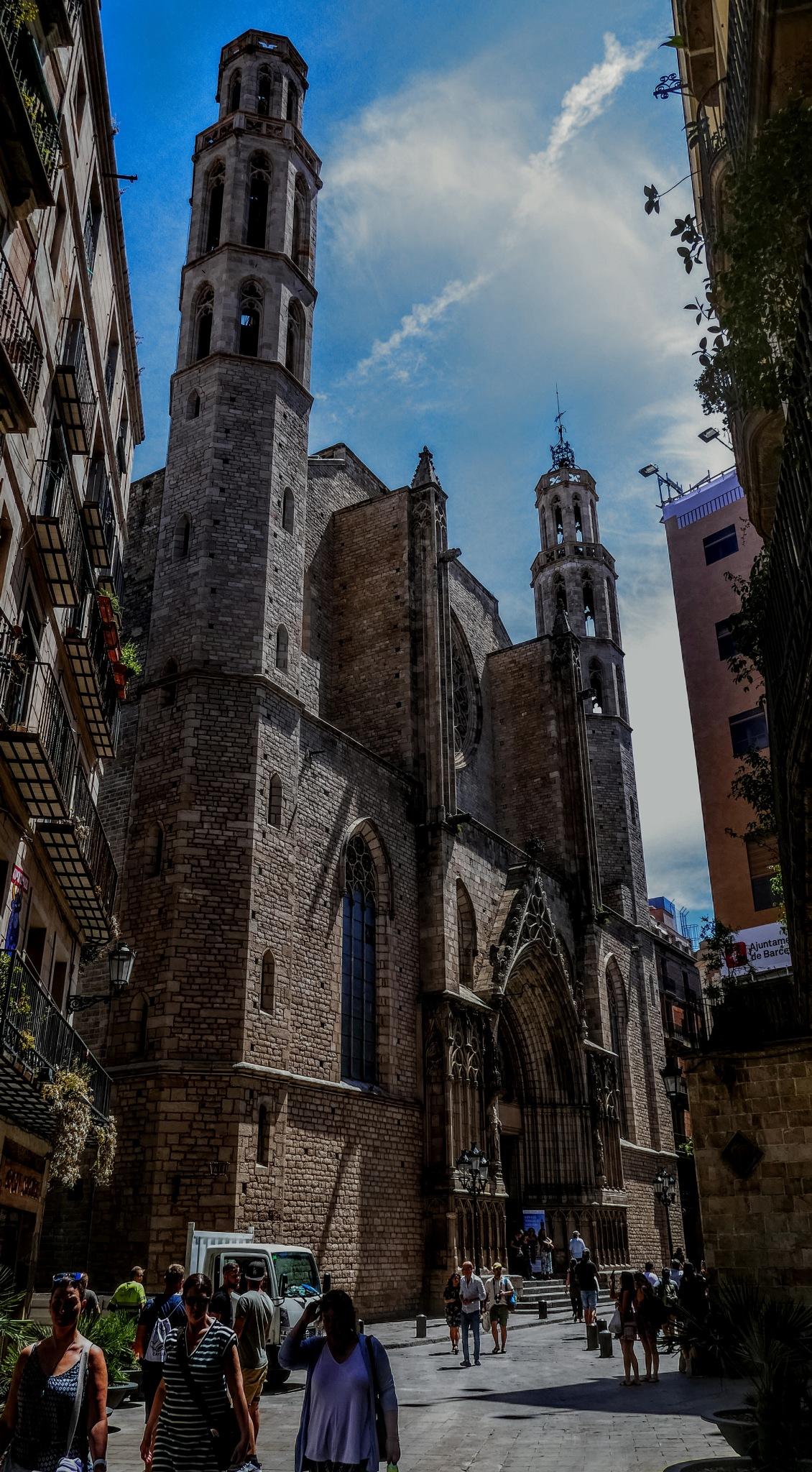 Catedral del Mar by José Antonio Fernández Gómez