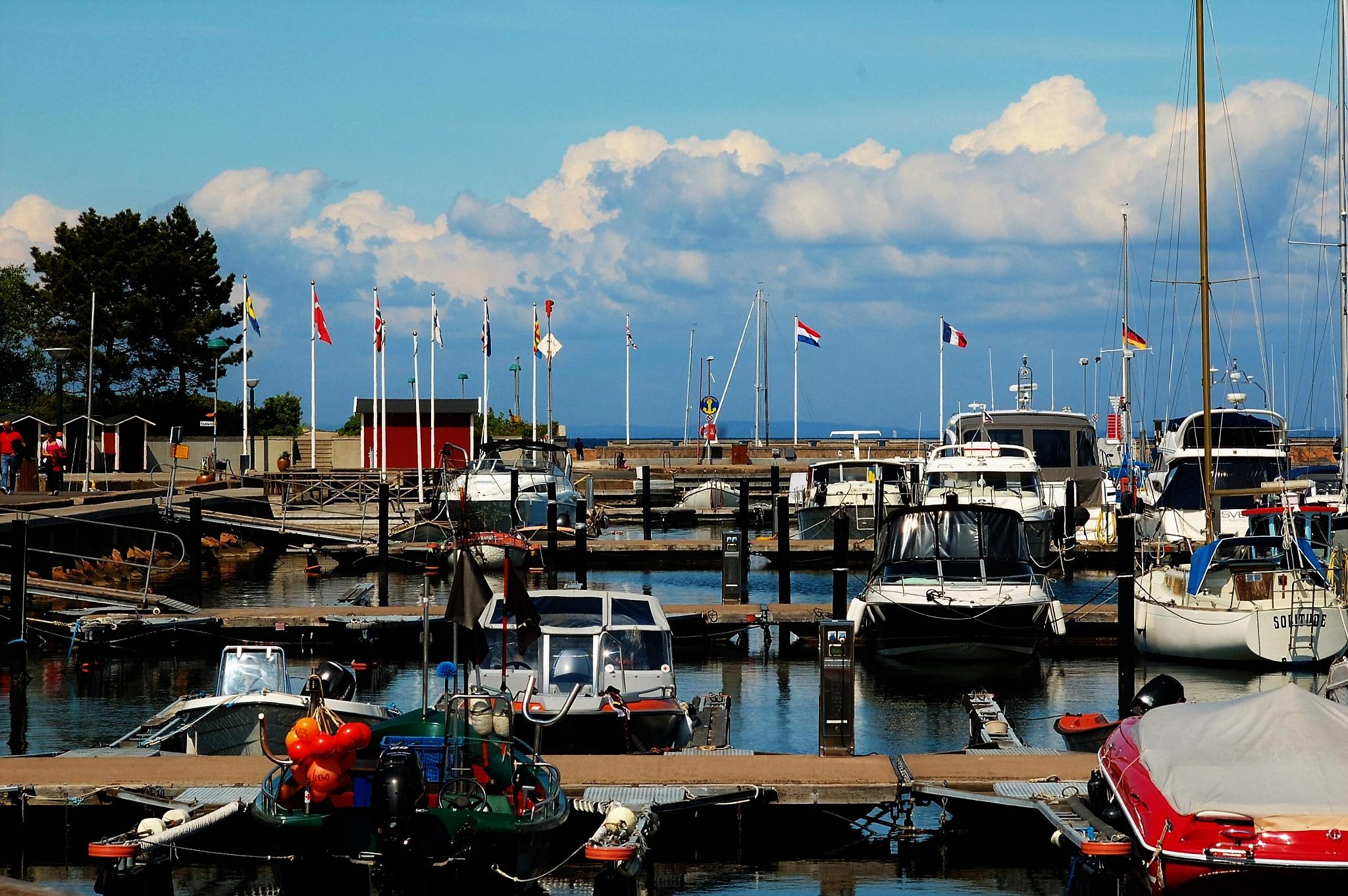 Båstad harbour by Christine1802