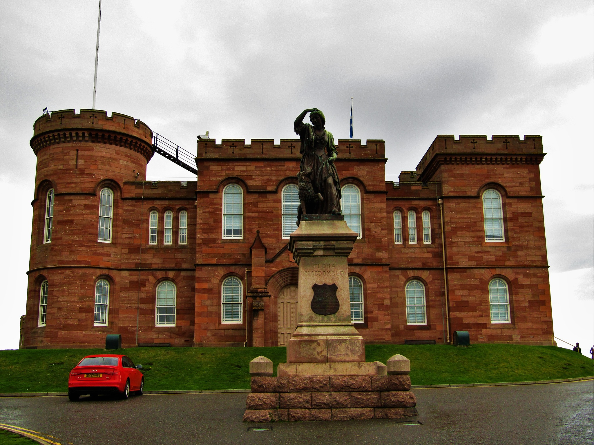 Inverness Castle by dpasika