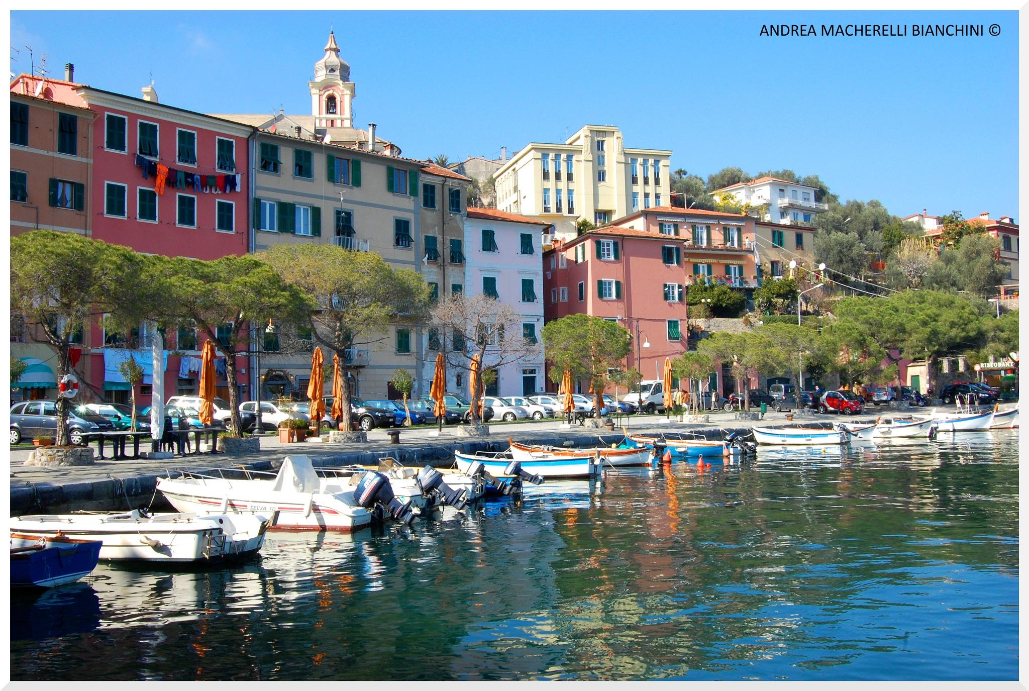 Village on the sea by Andrea Macherelli Bianchini