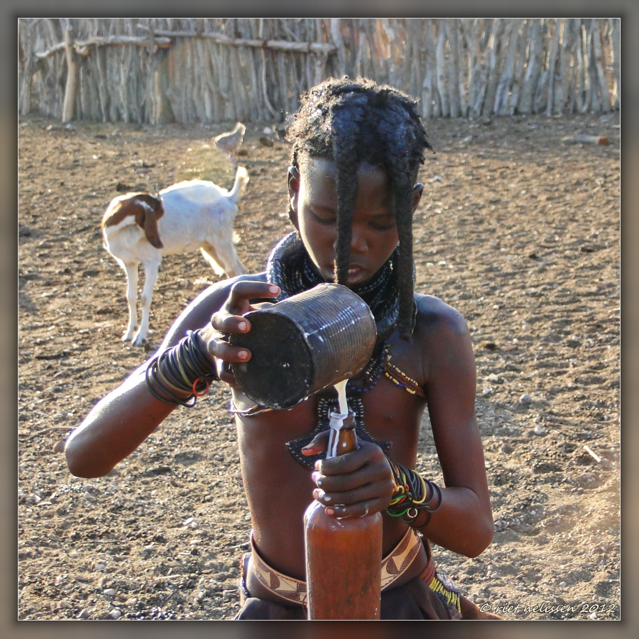 #,Himba boy by nelisser