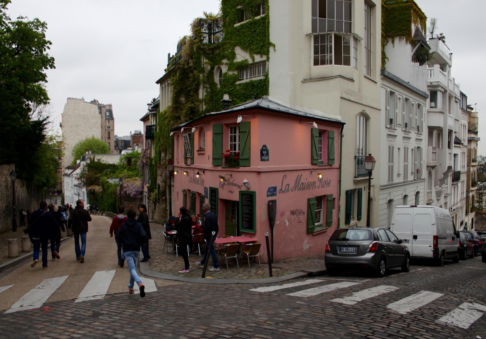 La Maison Rose ...Paris by kulefe31