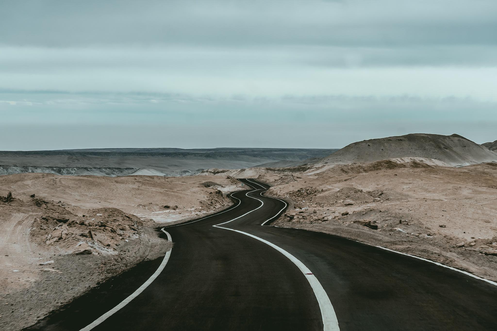 Desert Roads by Manuel Fuentes