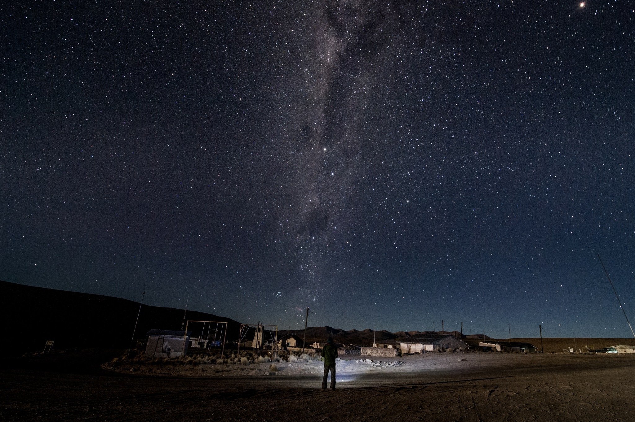 Guallatire Nights by Manuel Fuentes