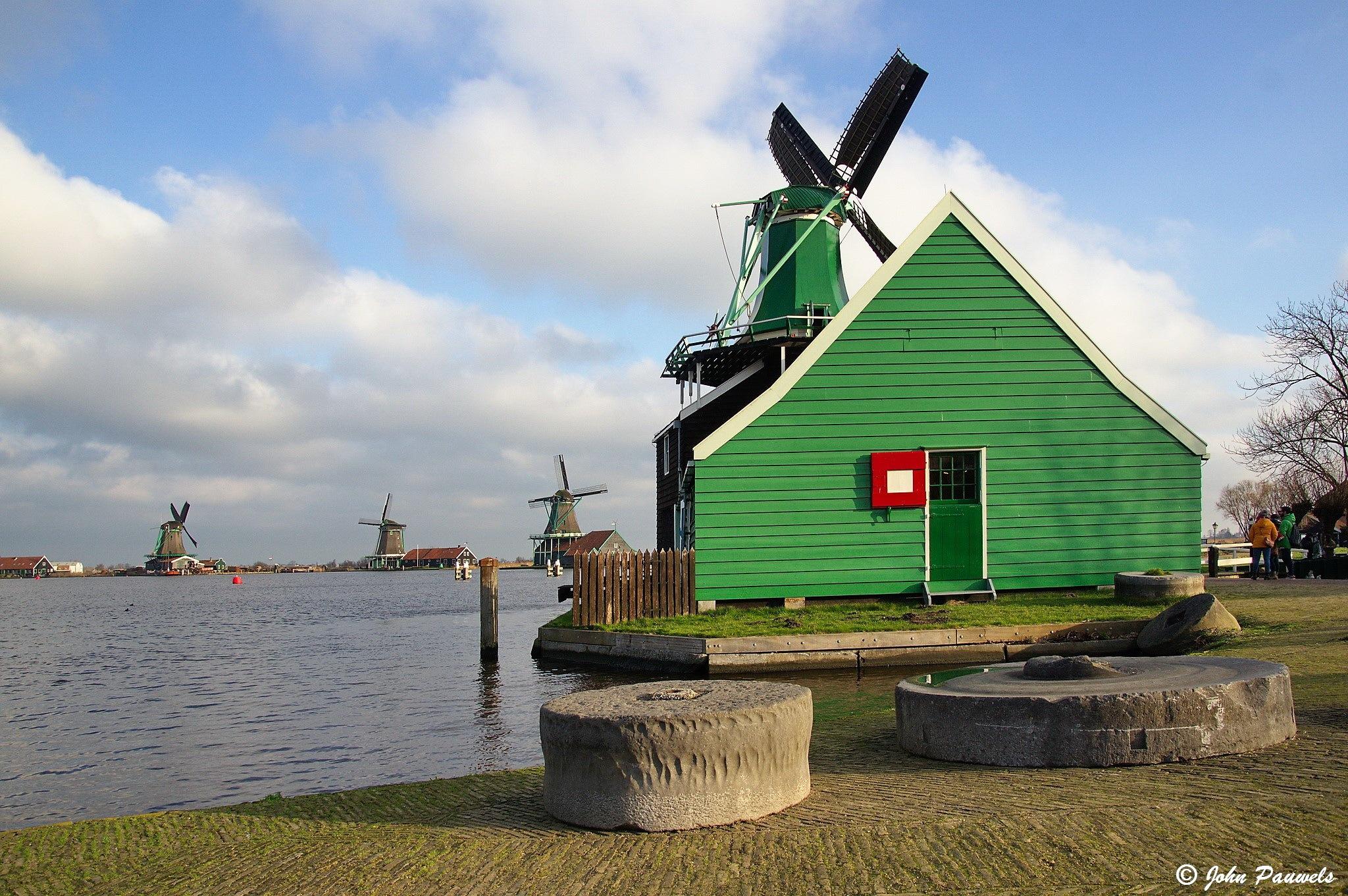 Windmills. by John Pauwels