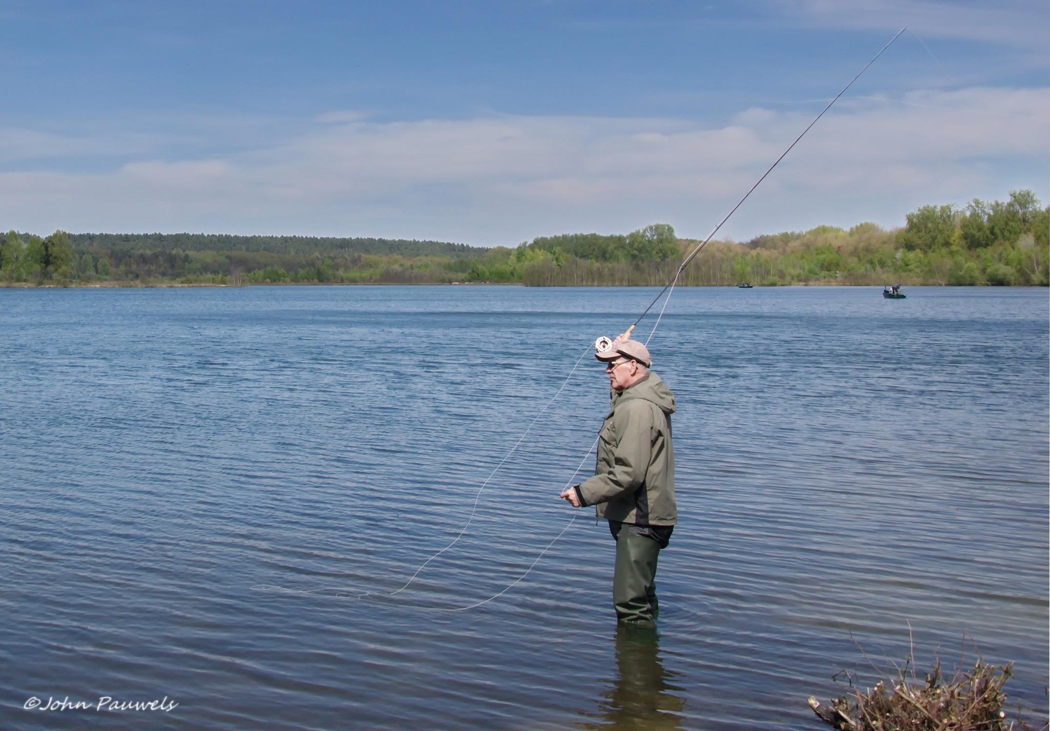 The fisherman. by John Pauwels