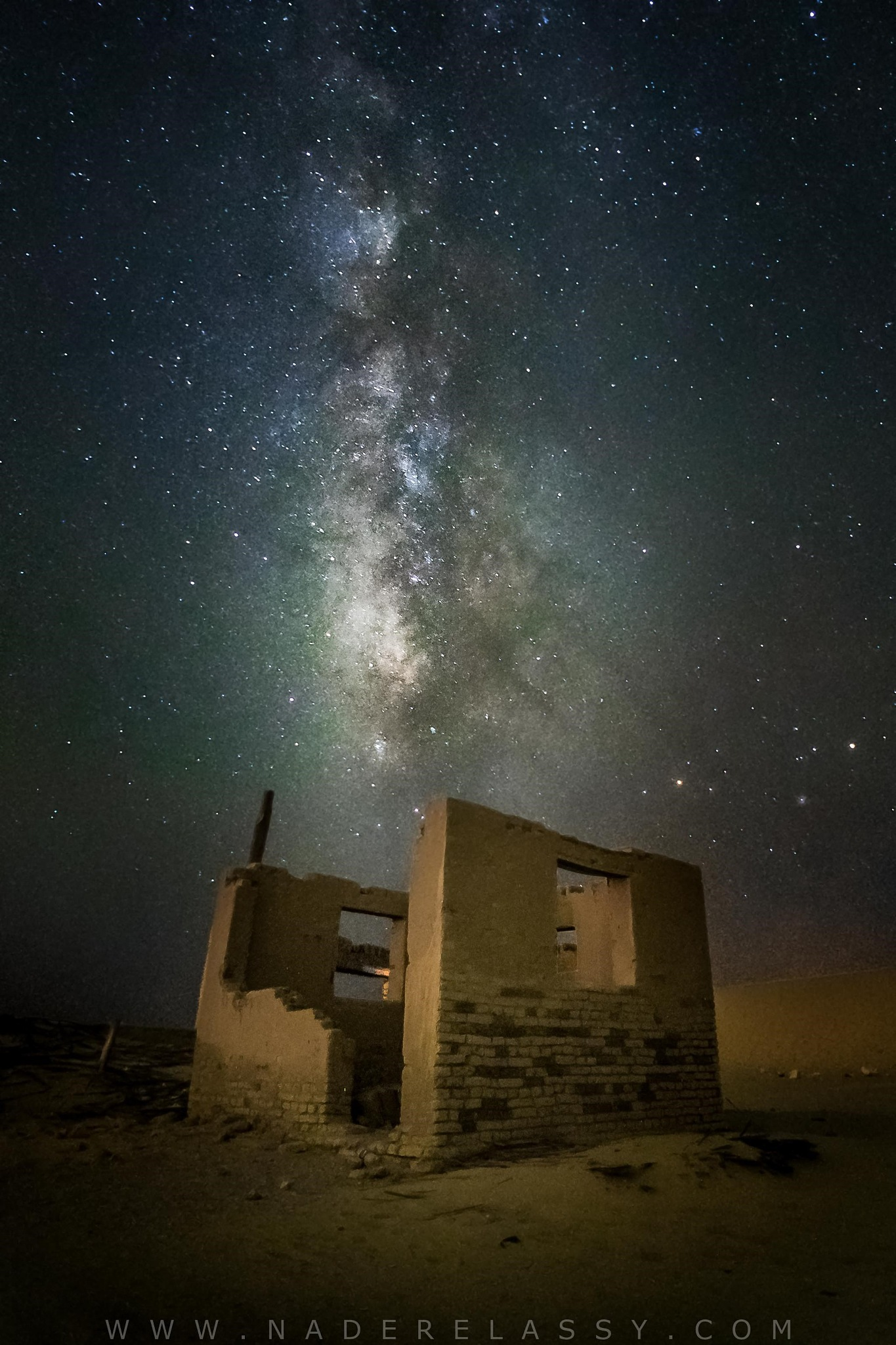 Abandoned Milkyway by Nader El Assy