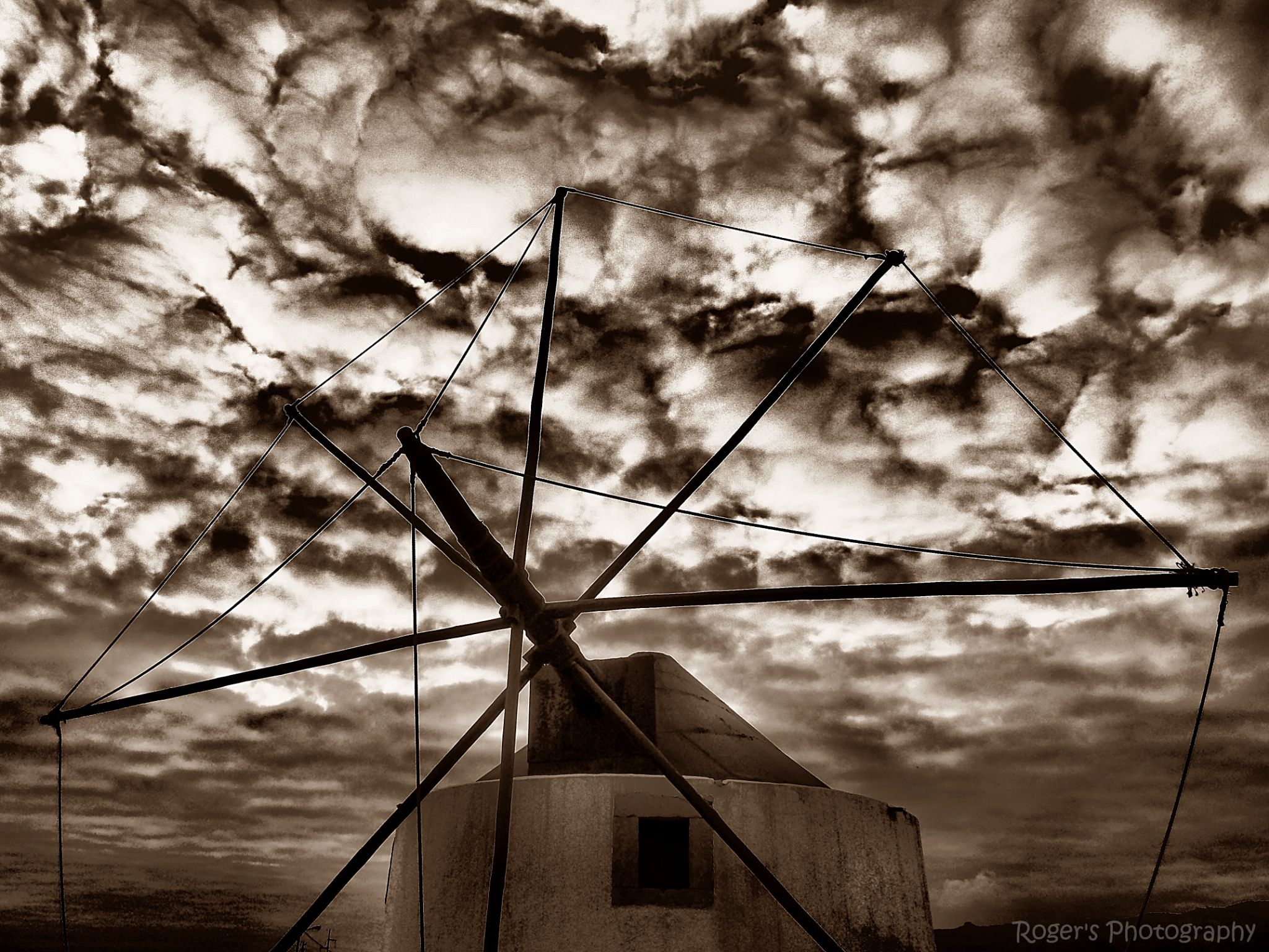 Wind mill by Roger Photography