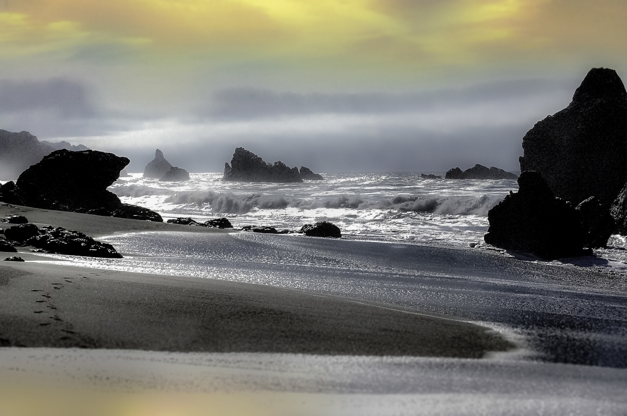 Golden Surf by WRKIMAGES
