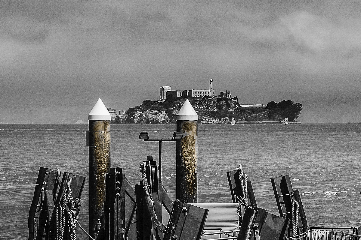 Alcatraz by WRKIMAGES