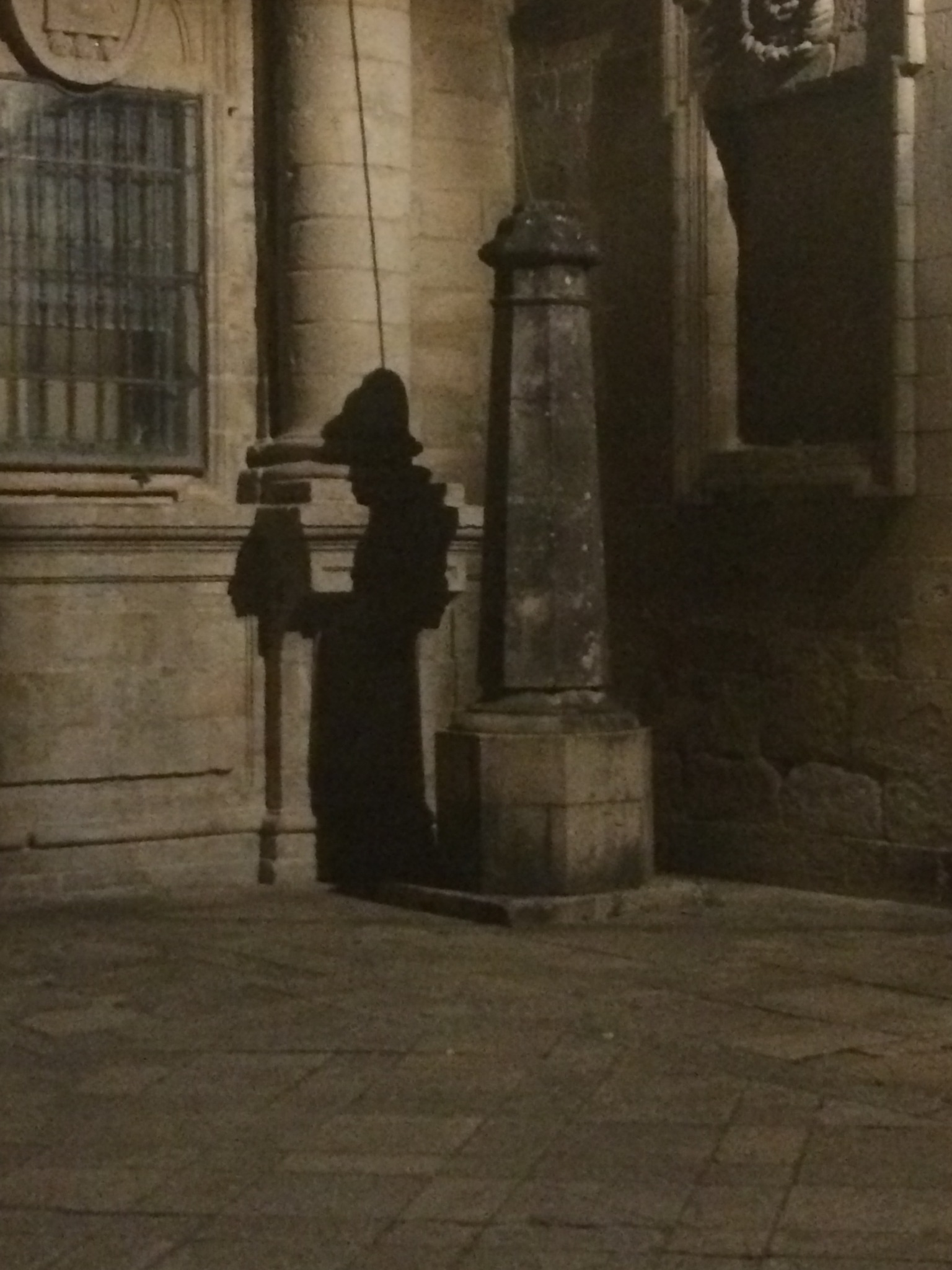 Mysterious pilgrim shadow by Renato Torres