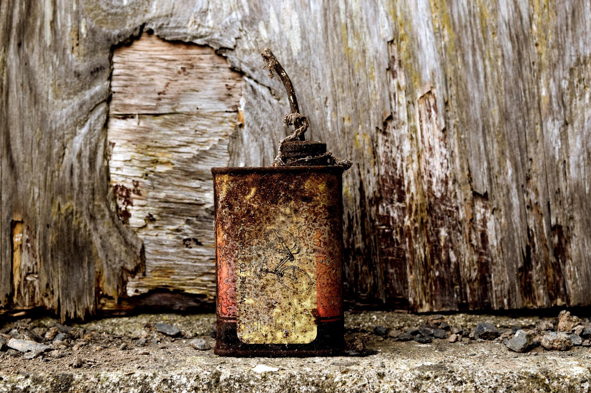 oil can by Jason Clarke