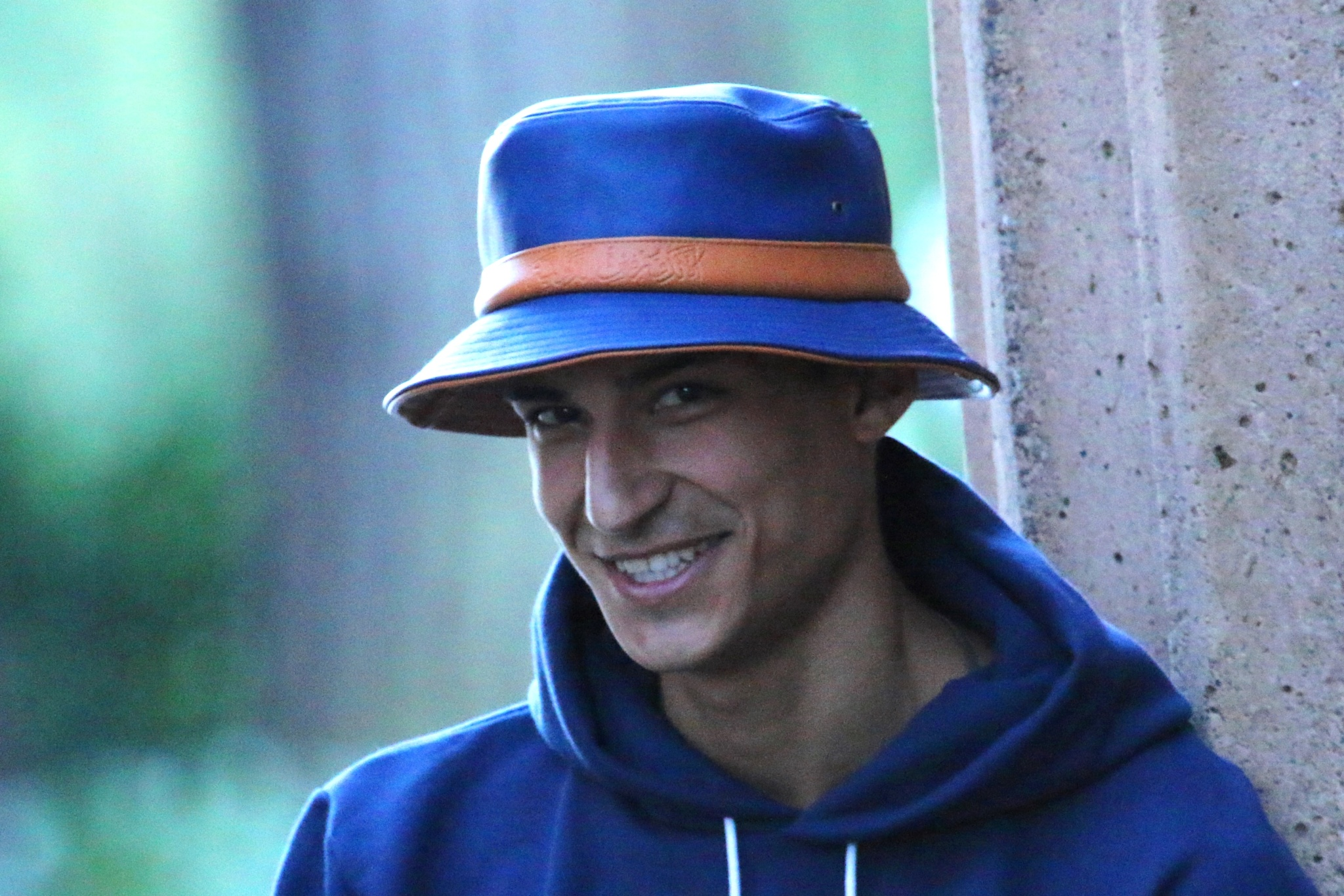 Blue Hat by Raphael RaCoon