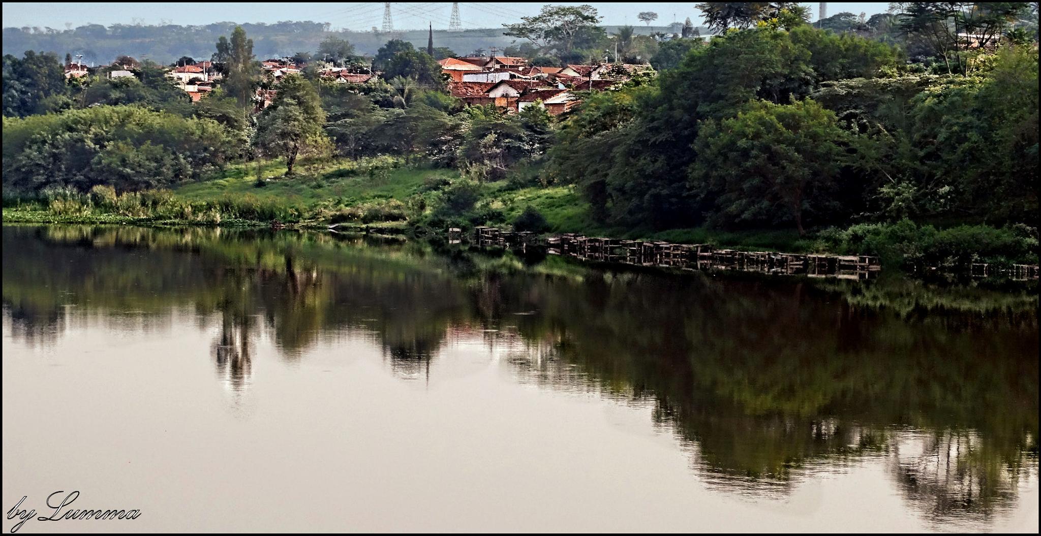 Photo in Nature #espelho d'agua #água #natureza #reflexo #casas #hdri