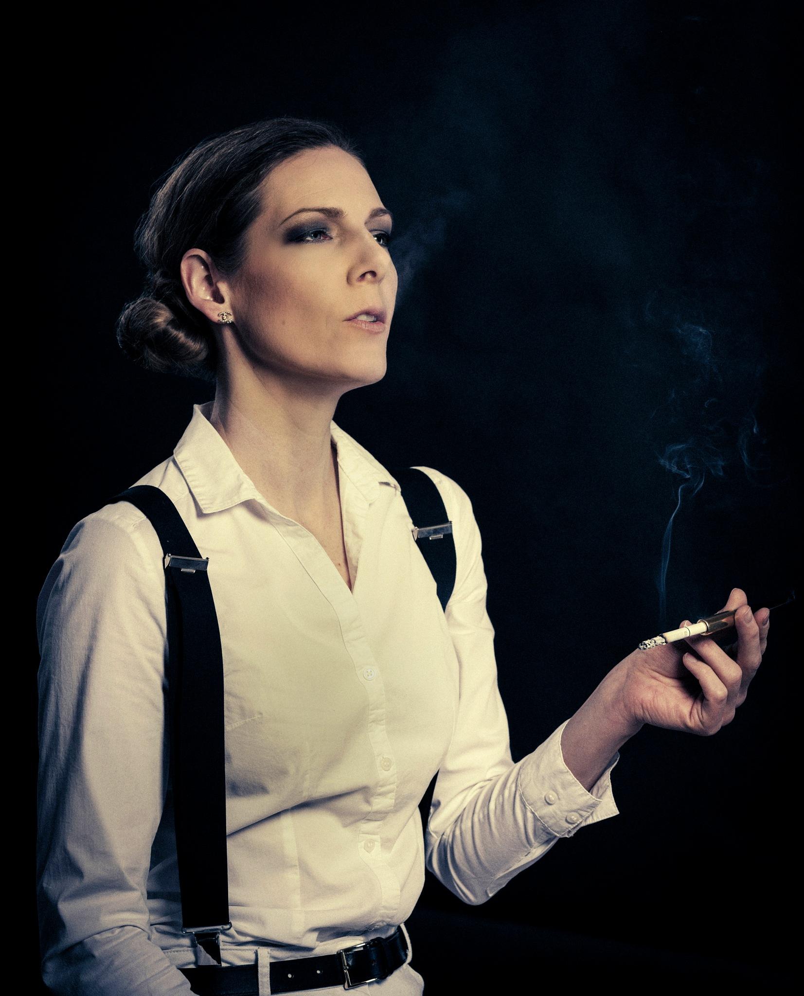 Smoker by Veli-Matti Launio