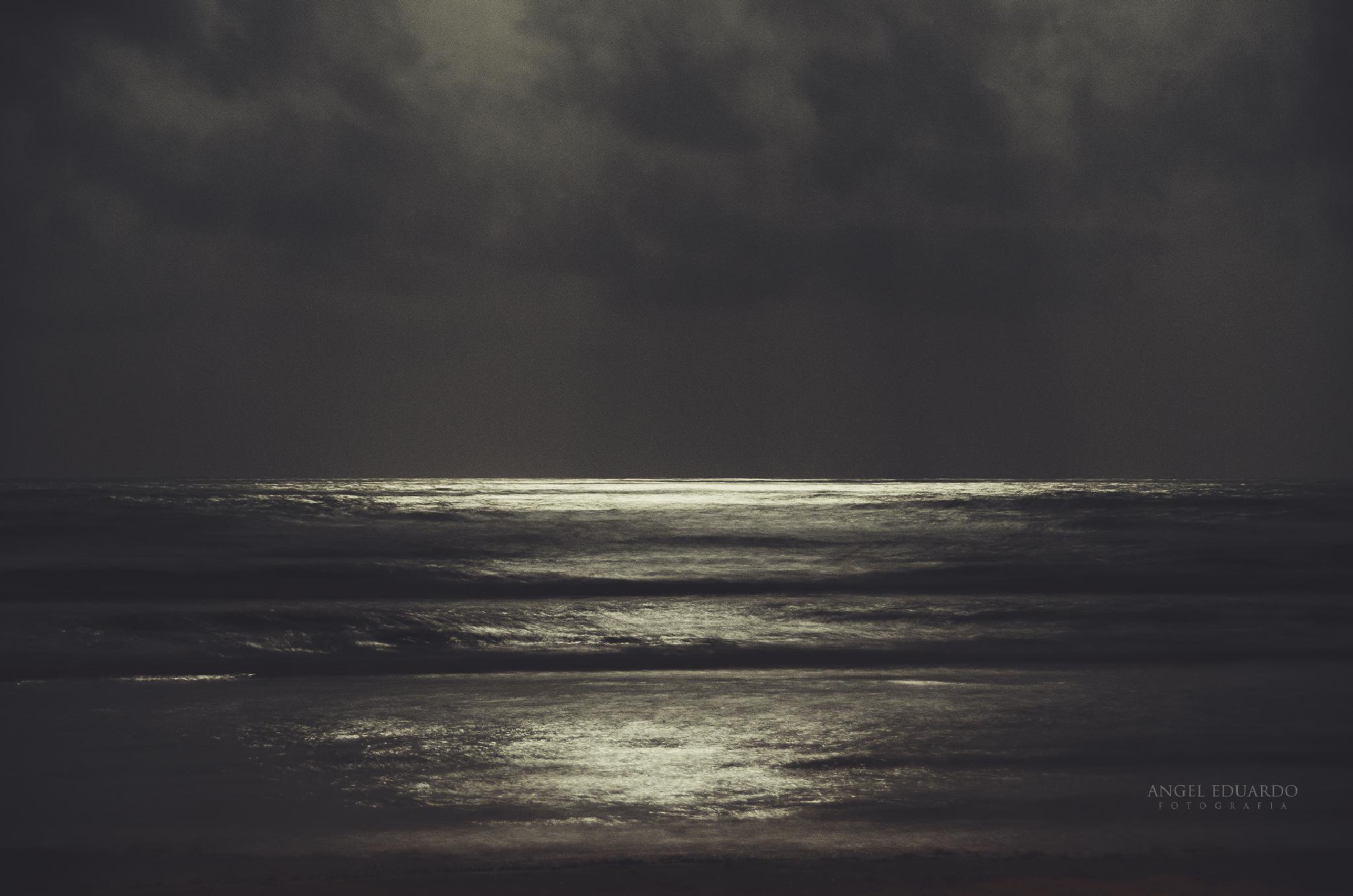 Photo in Landscape #canon #photoshop #moonlight #beach