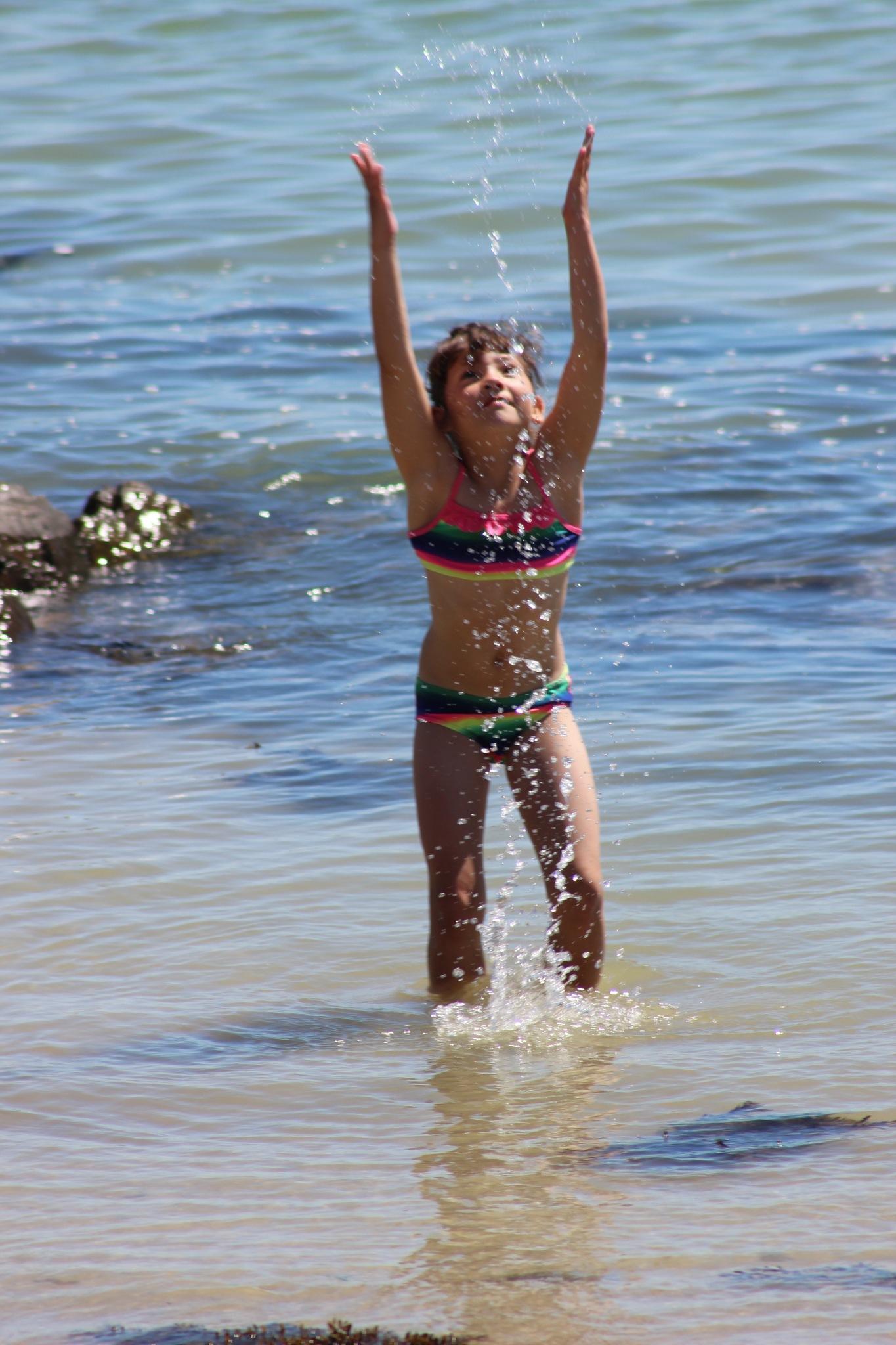 love the water by Zorana Zee Grobbelaar