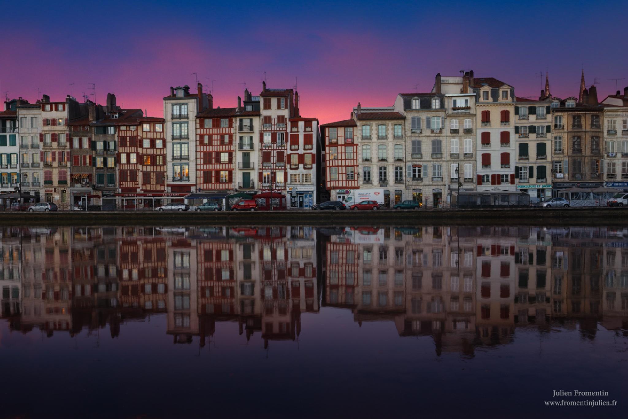 Bayonne, France by Julien FROMENTIN