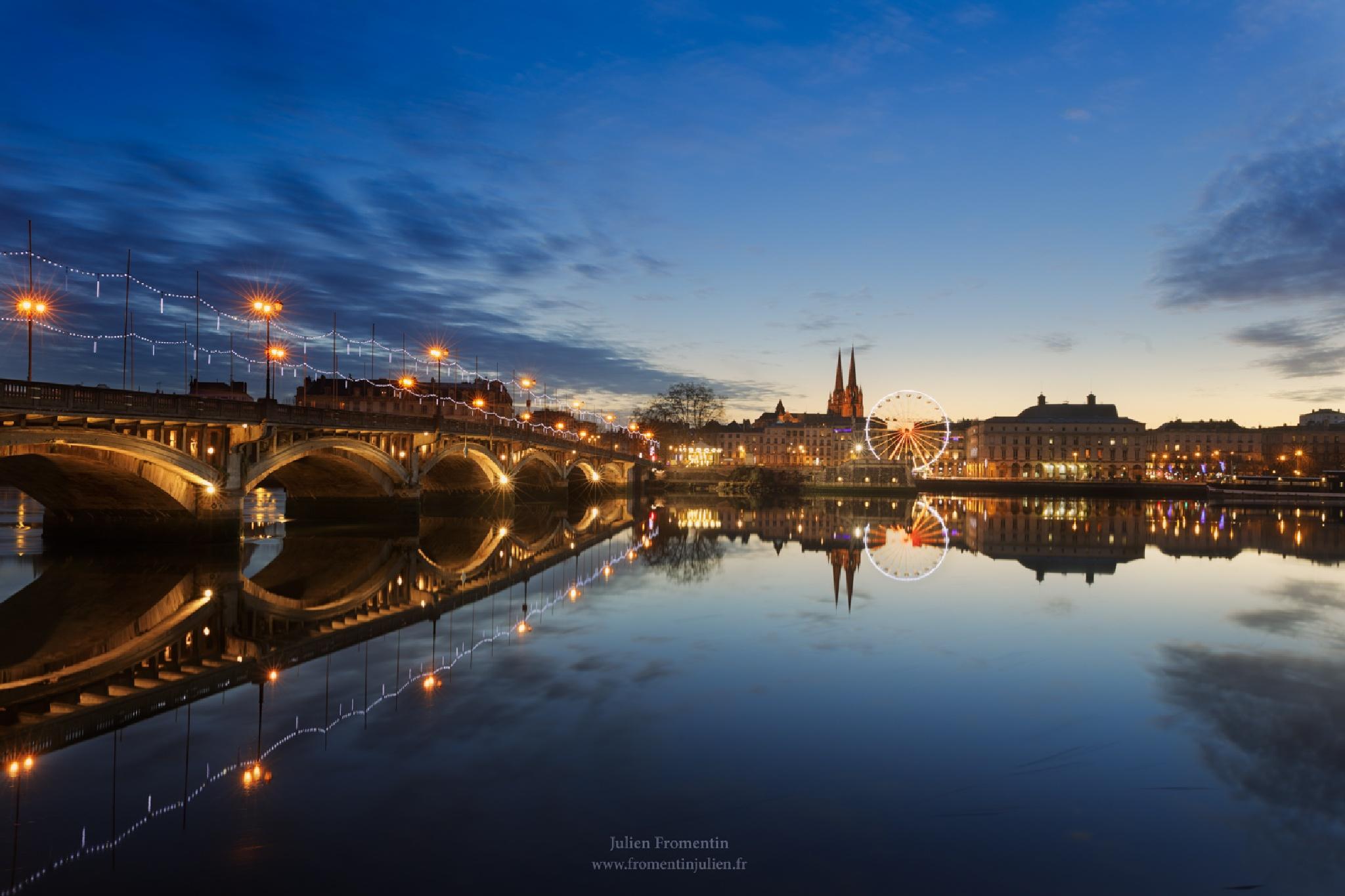 Pont Saint-Esprit, Bayonne, France by Julien FROMENTIN