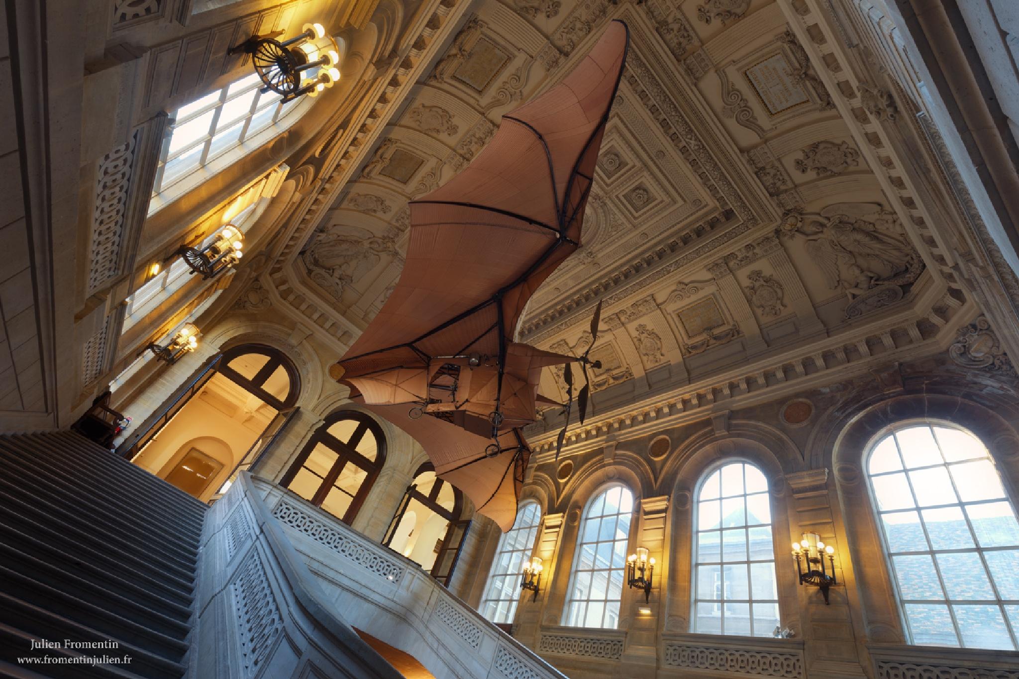 Éole, Musée des Arts & Métiers, Paris by Julien FROMENTIN