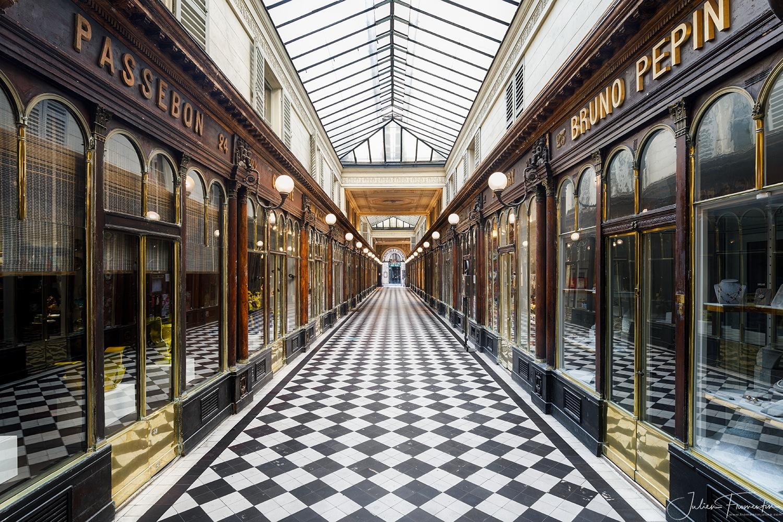 Galerie Véro-Dodat, Paris by Julien FROMENTIN