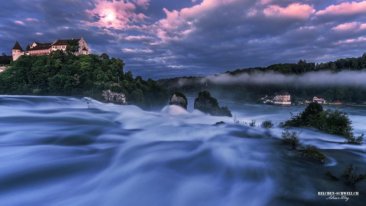 Rheinfall-Switzerland by AdrianWirz