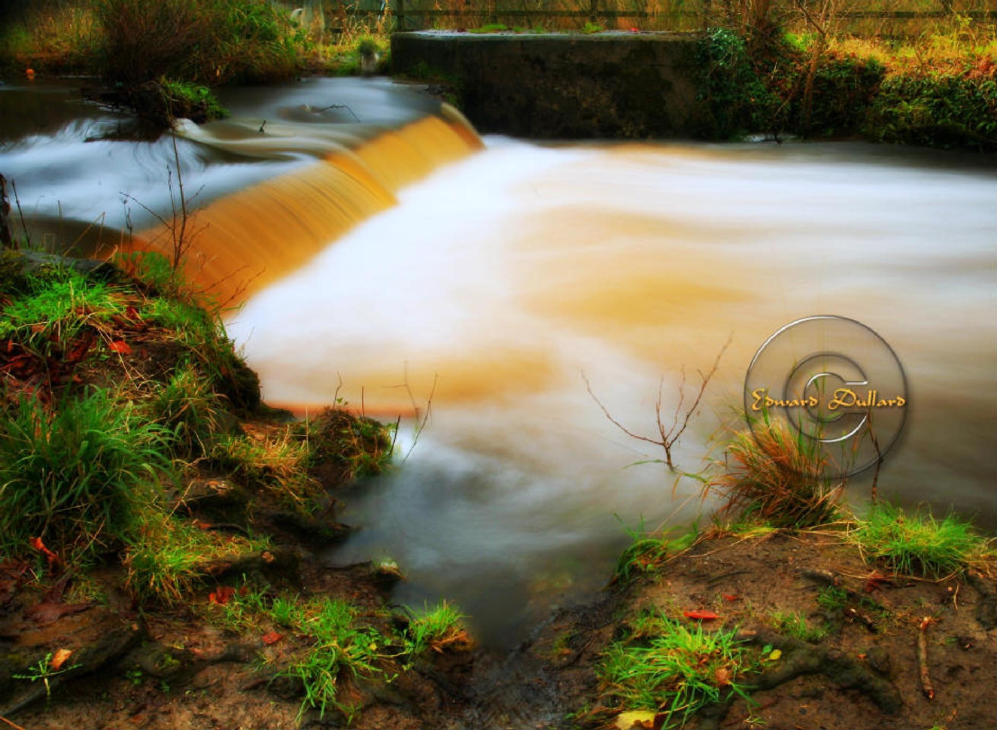 The Canal walk waterfall. by EdwardDullard