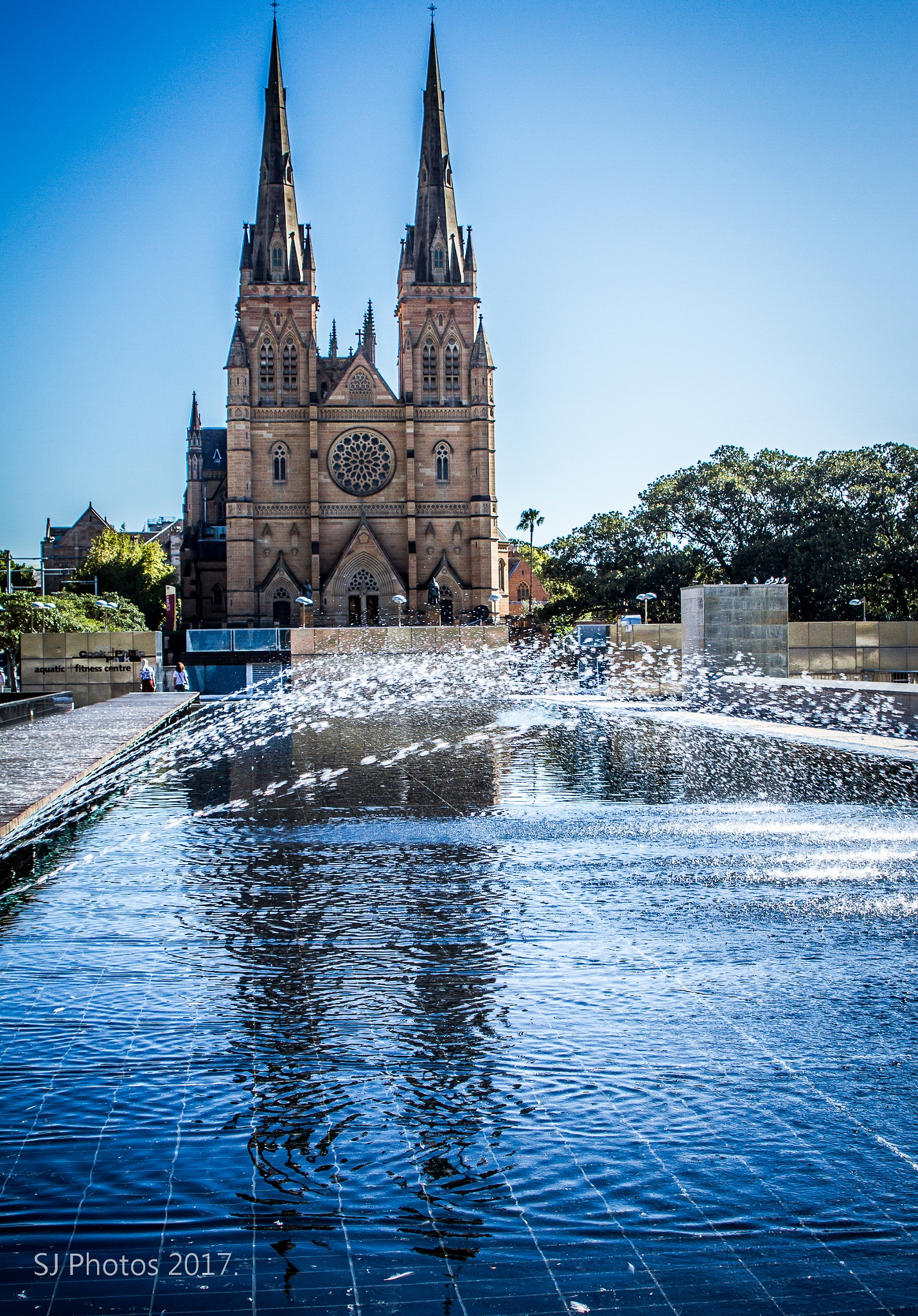 St Marys Cathedral by Sherrie