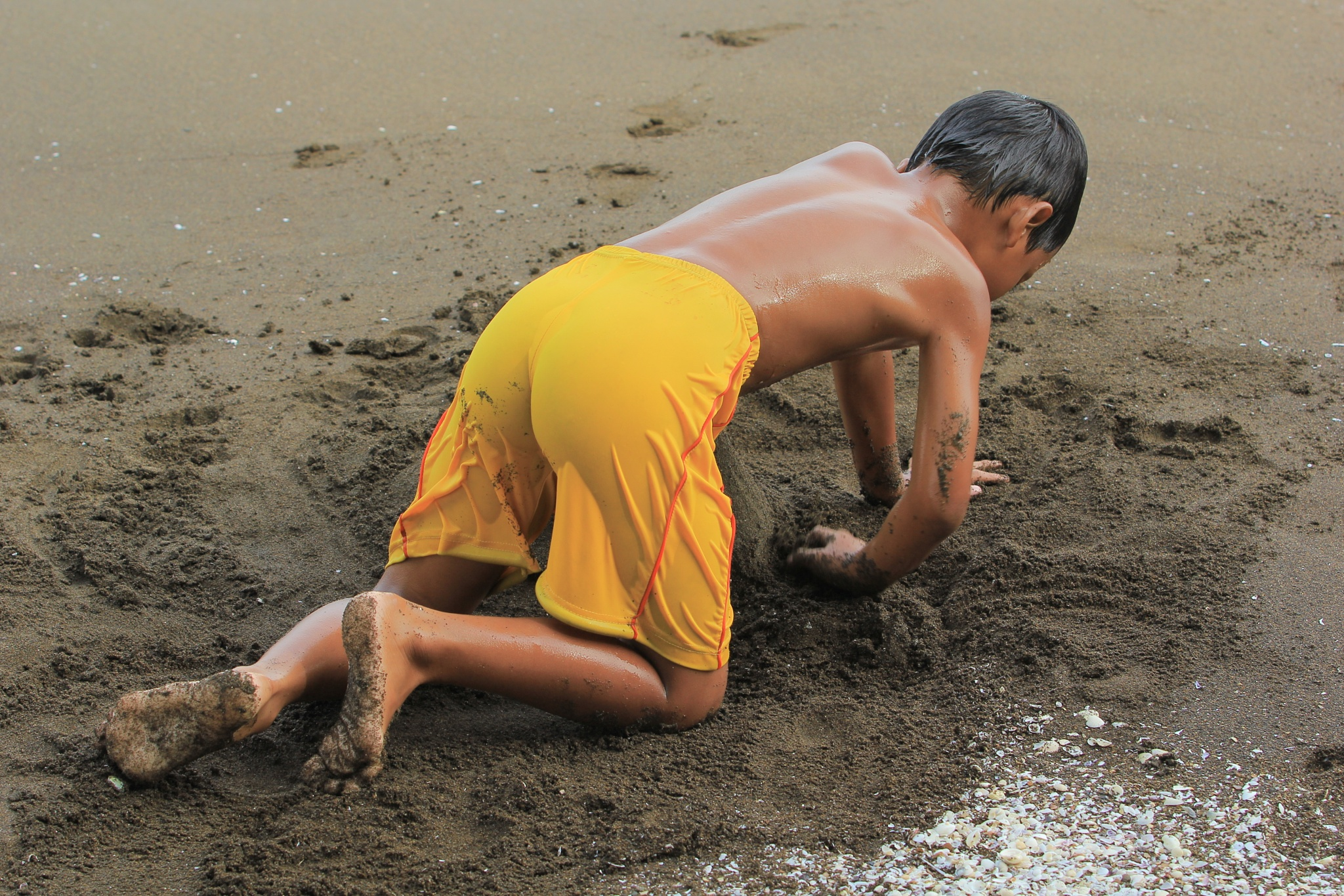 Play sand by Joe Iskandar
