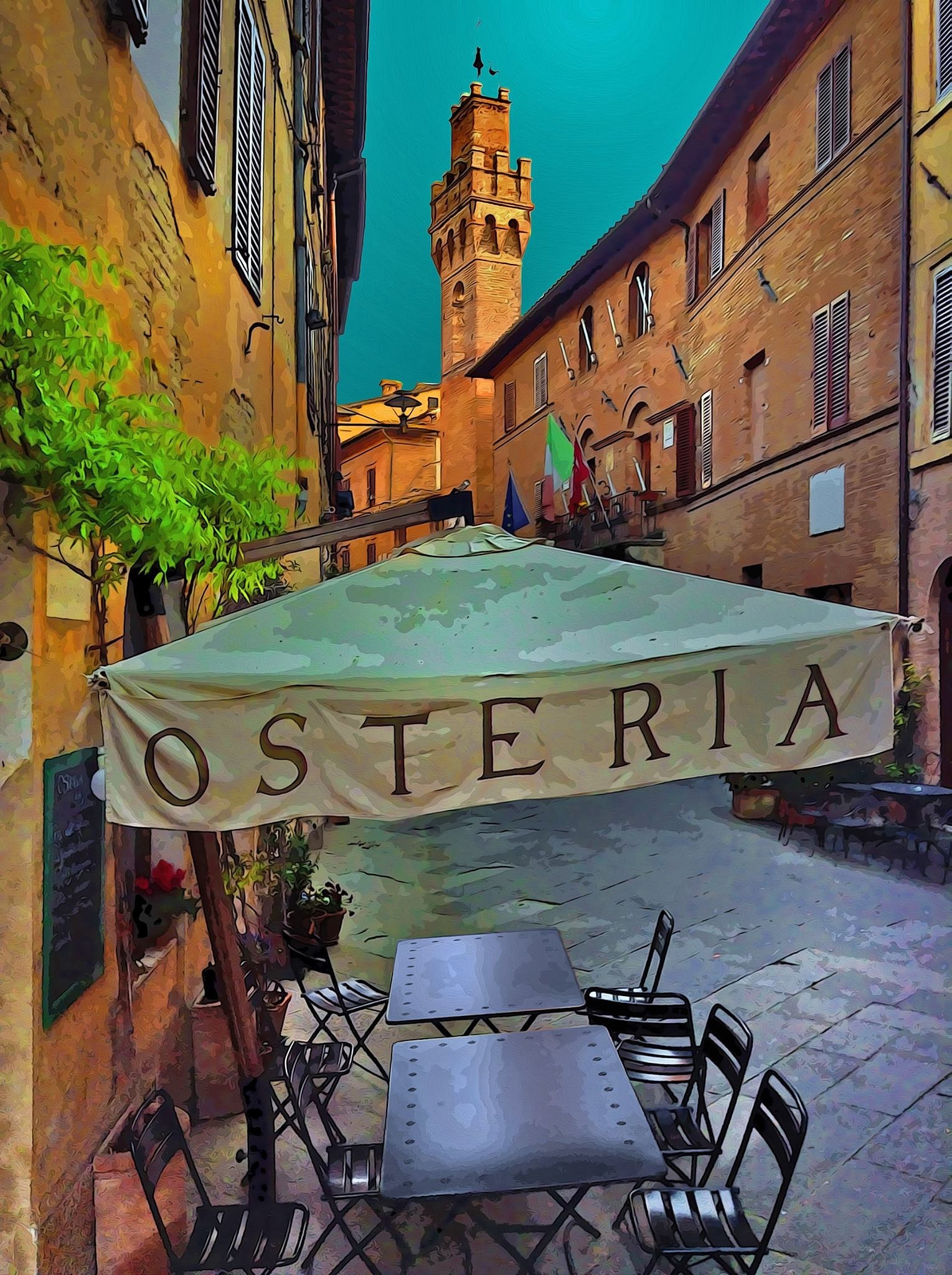 Buonconvento Siena  by william.giacomini