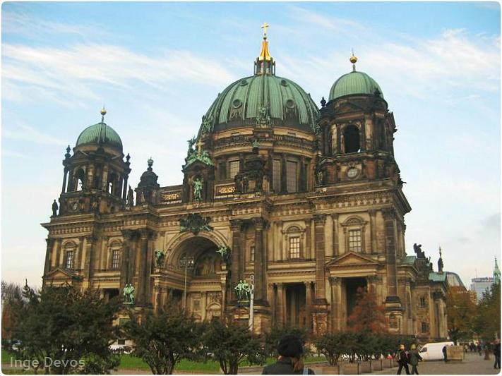 Berlin Cathedral by Inge Devos