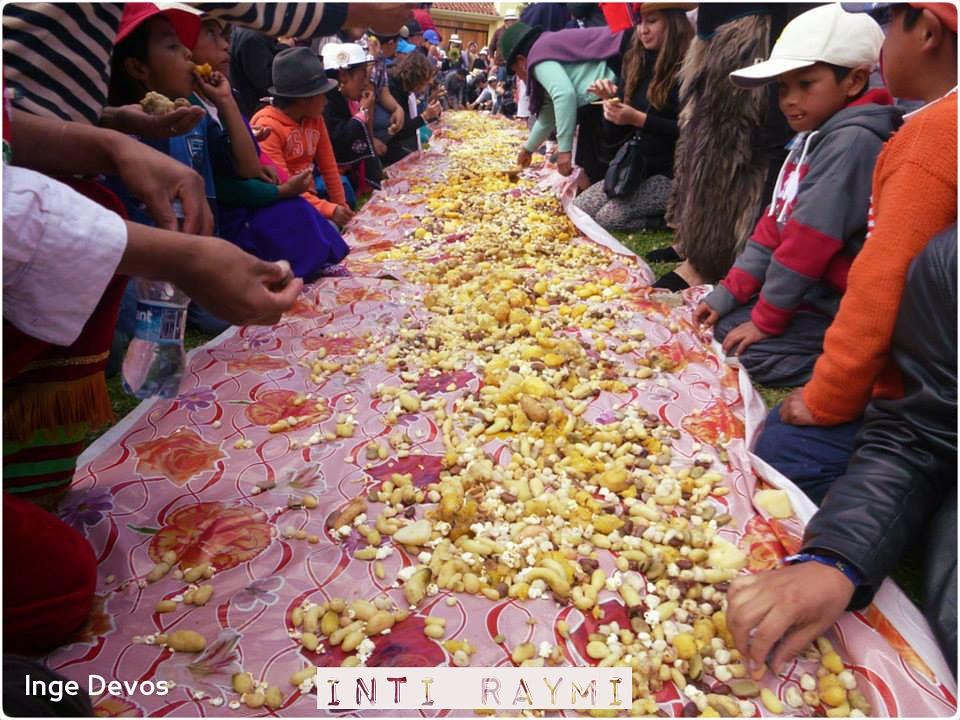Inti Raymi - Ingapirca (Cañar)  by Inge Devos