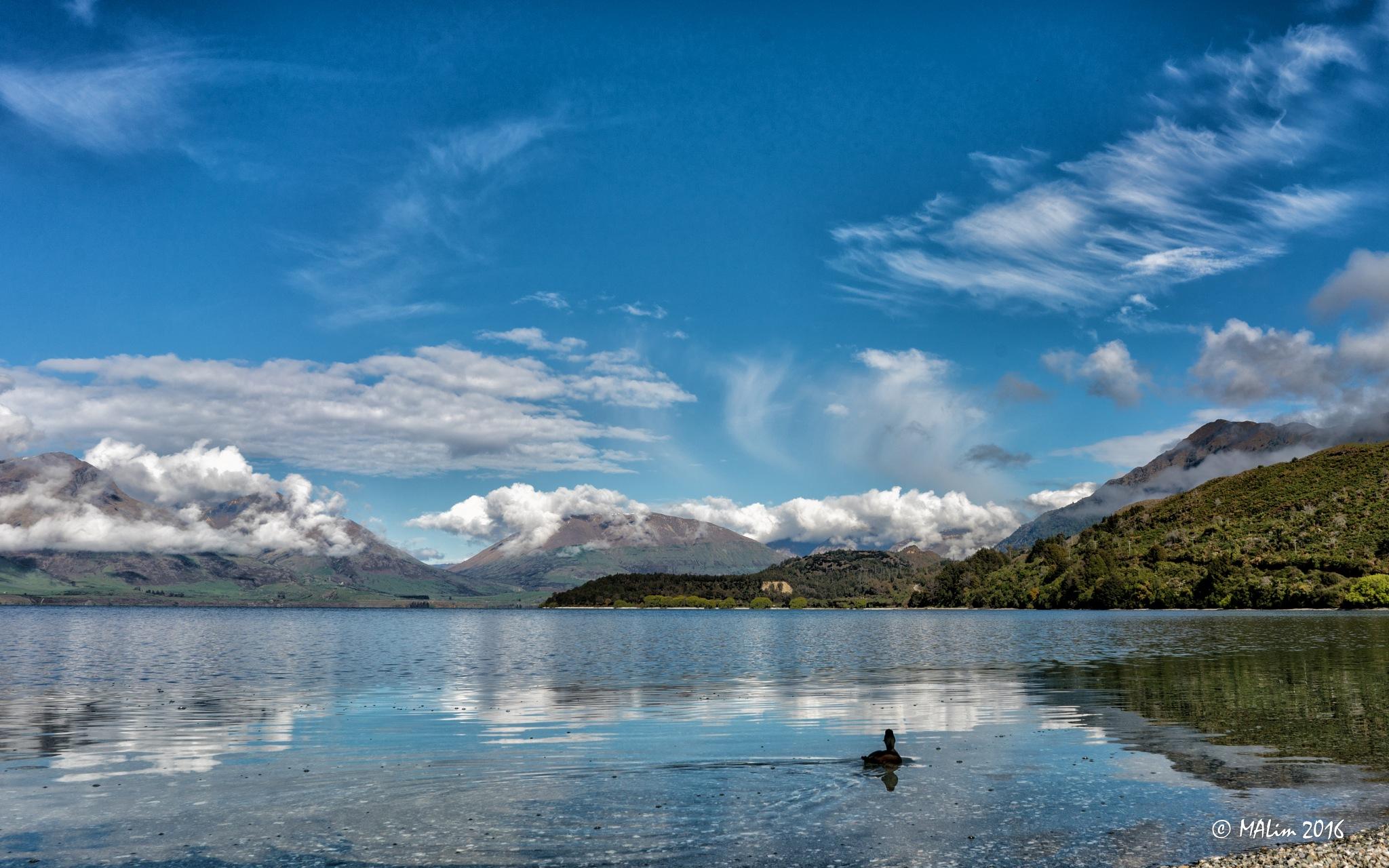 Lake Waikatipou by Meng Lim
