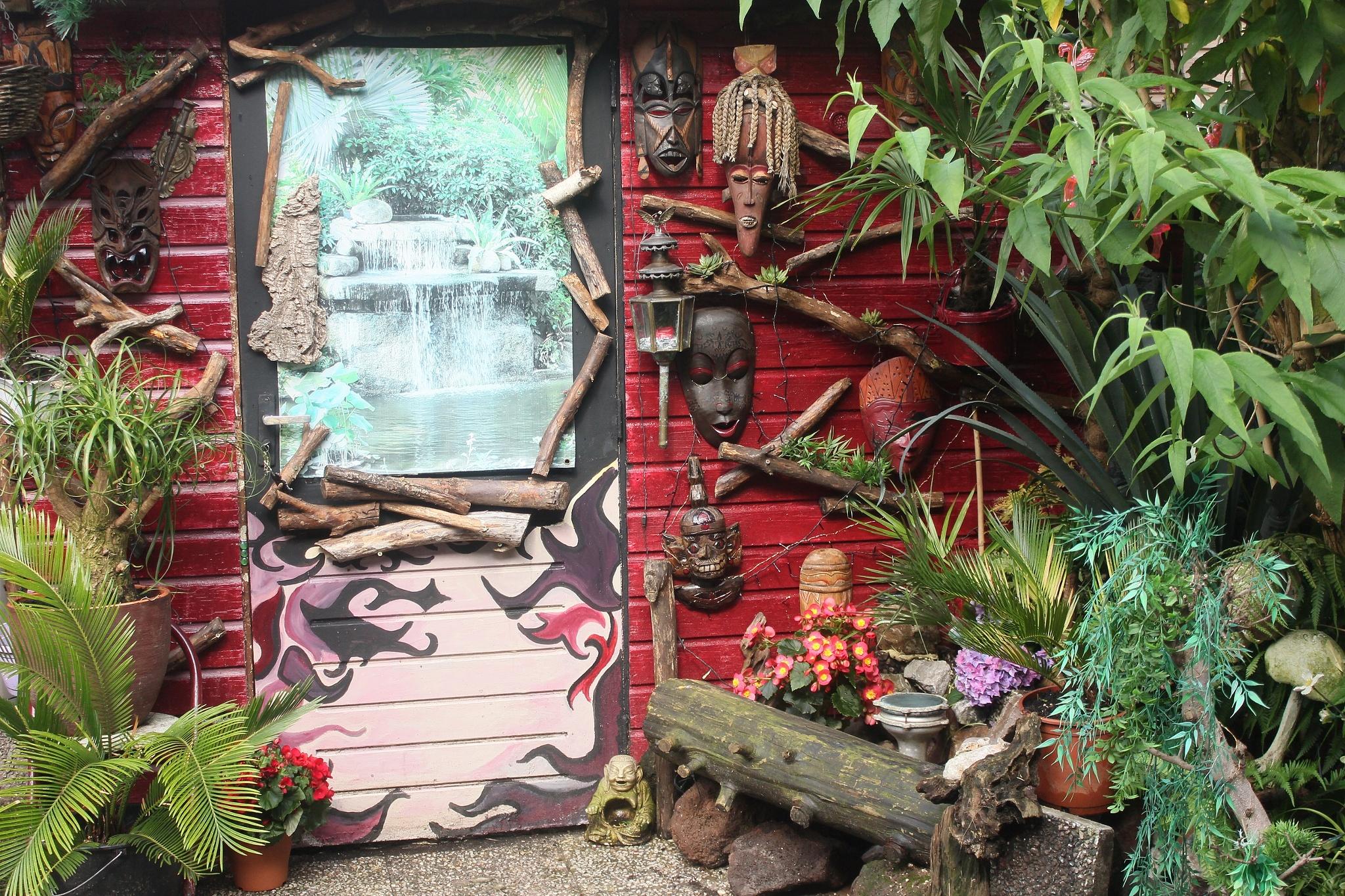 Backyard by Monique van Ruiven