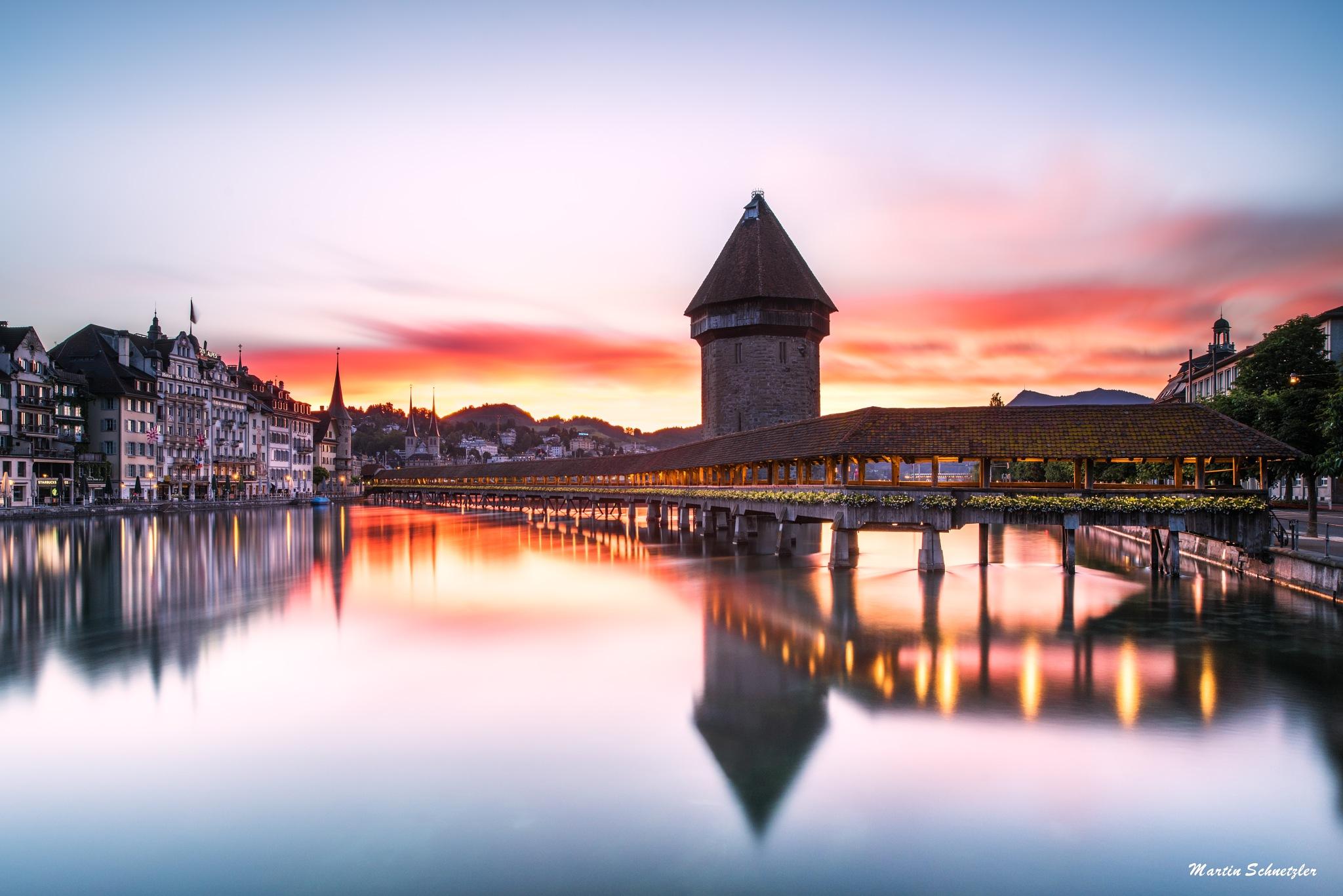 Luzern, Switzerland by Martin Schnetzler