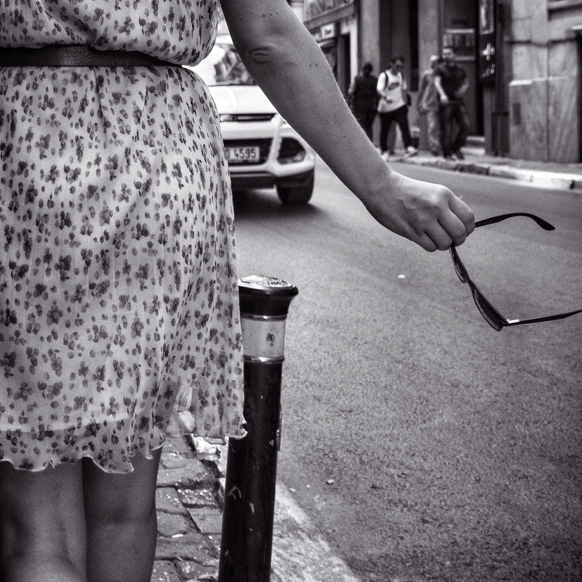woman on the street by farzad hosseini abdollahi