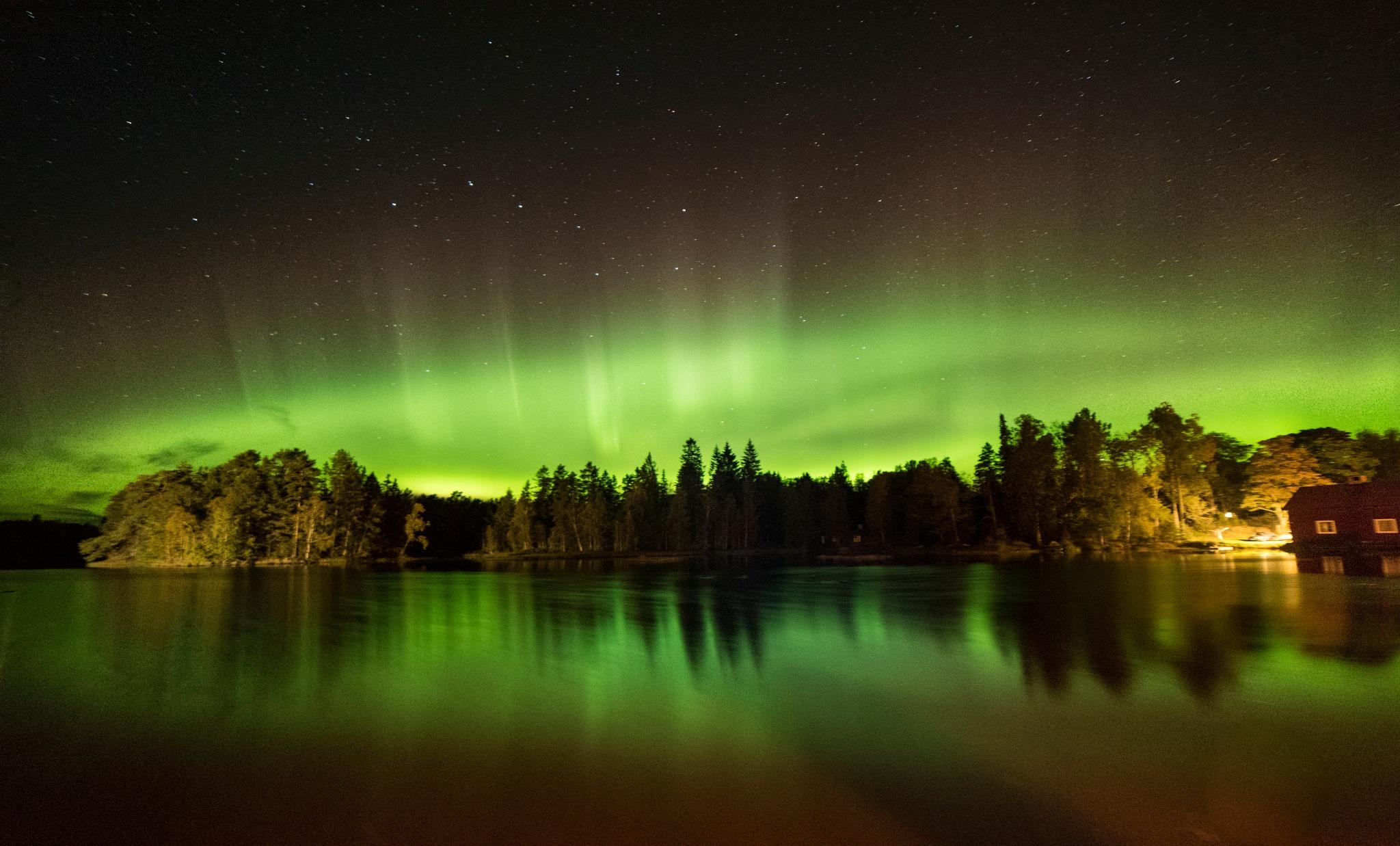 Orslattfors lake  by Niclaskrog