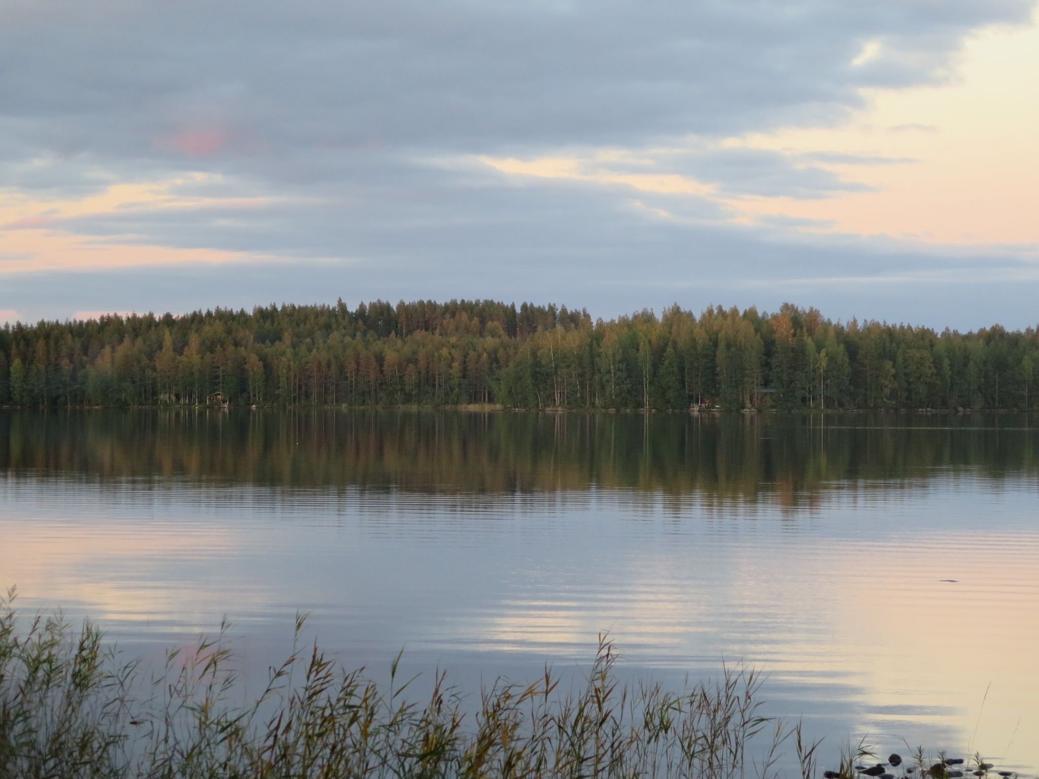 Finnish summer on lake by evasojahannele