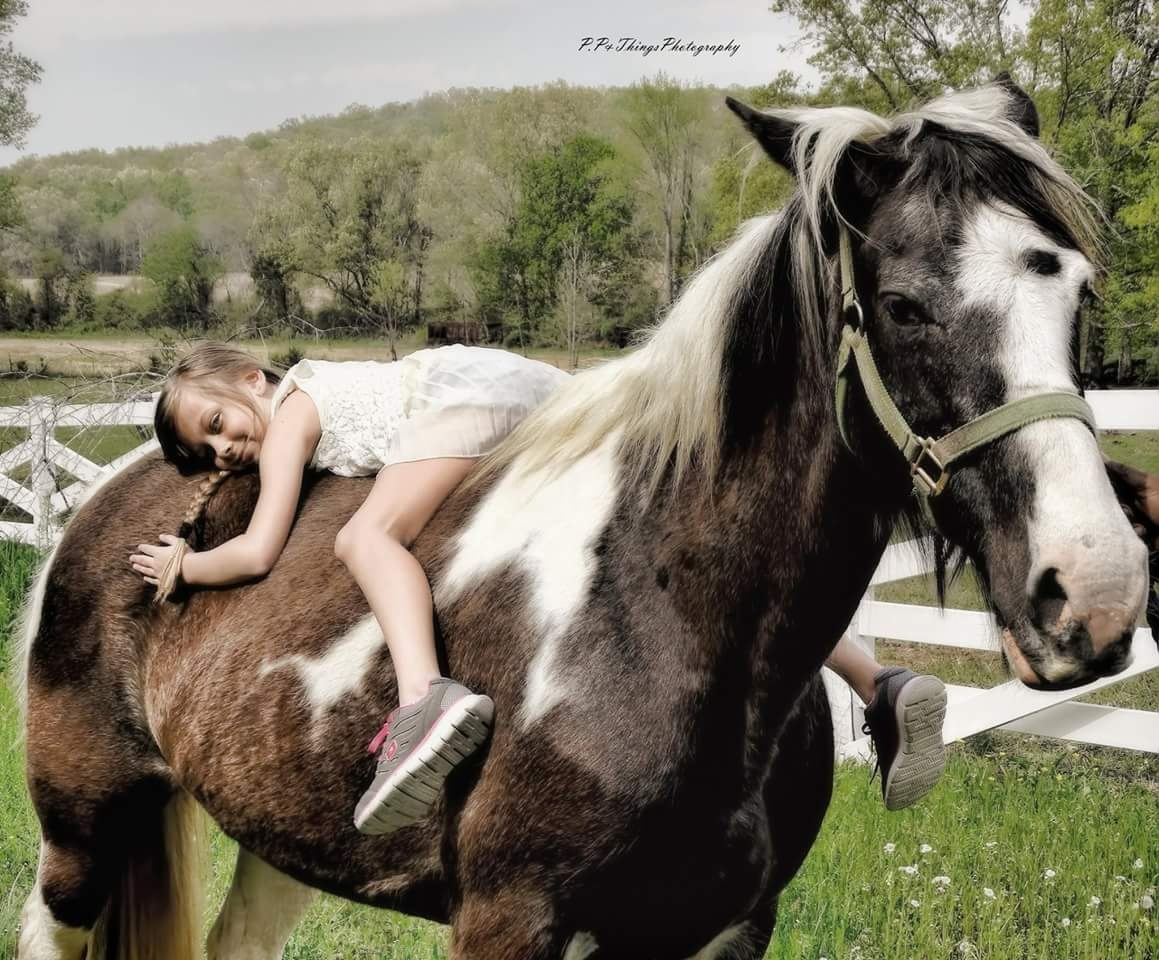 a girl and her horse  by Jonalee Faith Shirah